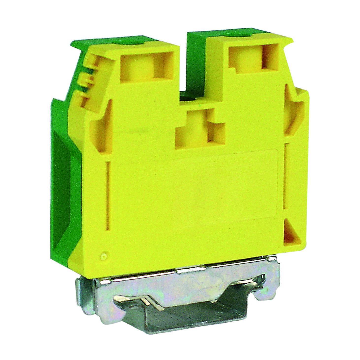 1 Stk Erdungsklemme TEC.35 grün-gelb, 35mm² IK122035-A