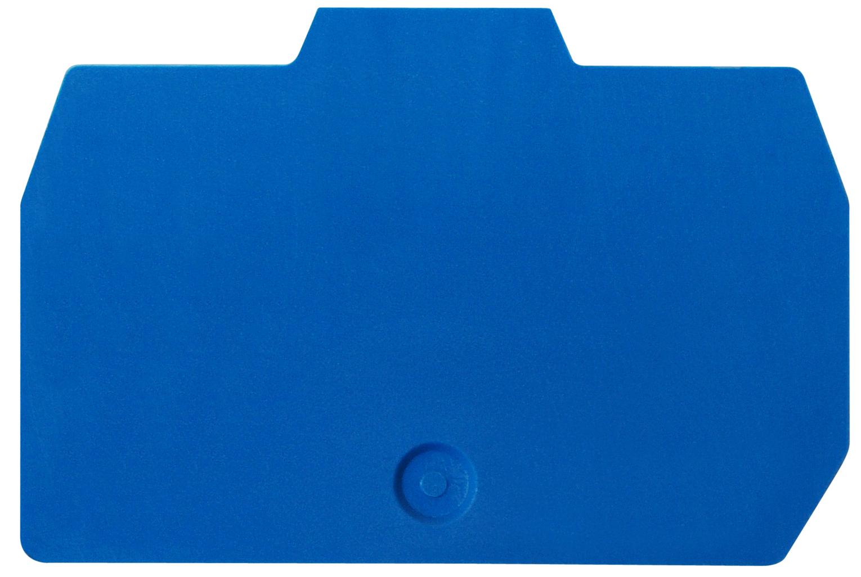 1 Stk Endplatte für Federkraftklemme HMM 2,5mm², blau IK201202-A