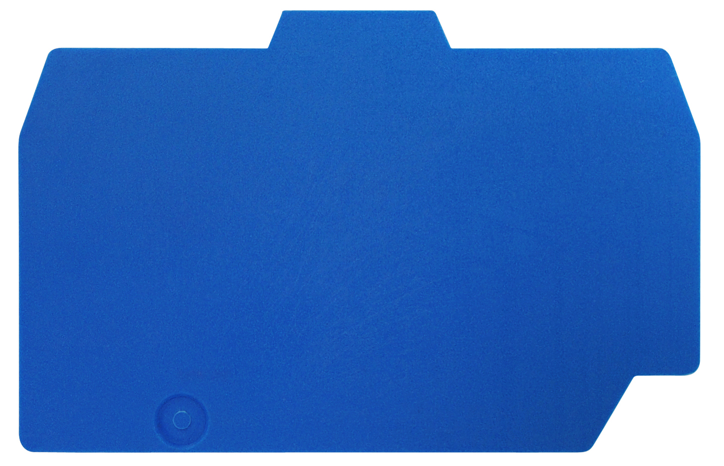 1 Stk Endplatte für Federkraftklemme HTE 6mm², grün-gelb IK222206--