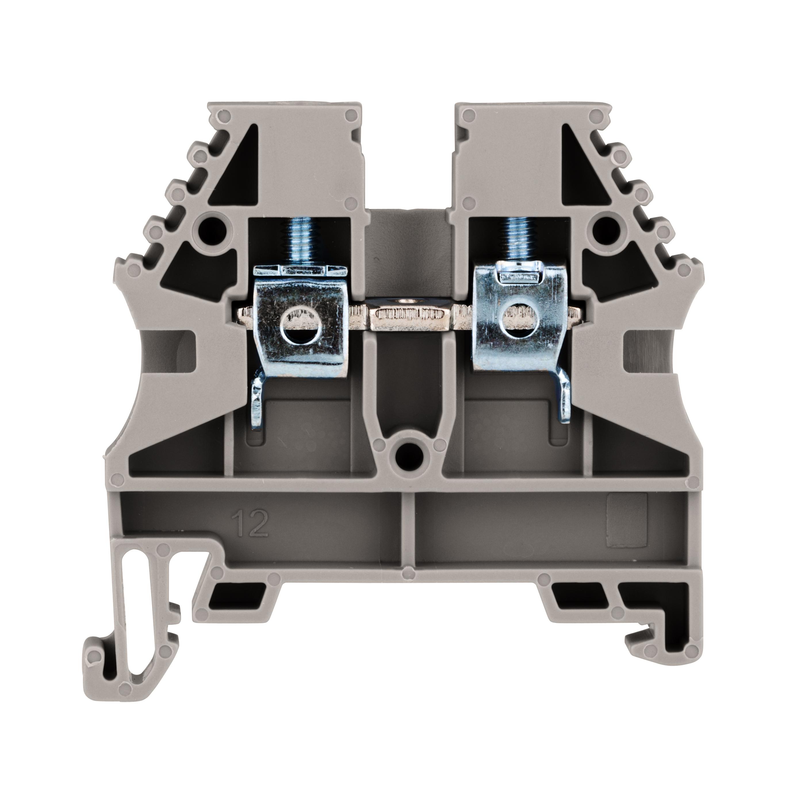 1 Stk Reihenklemme 4mm², Type AVK 4, grau IK600004--