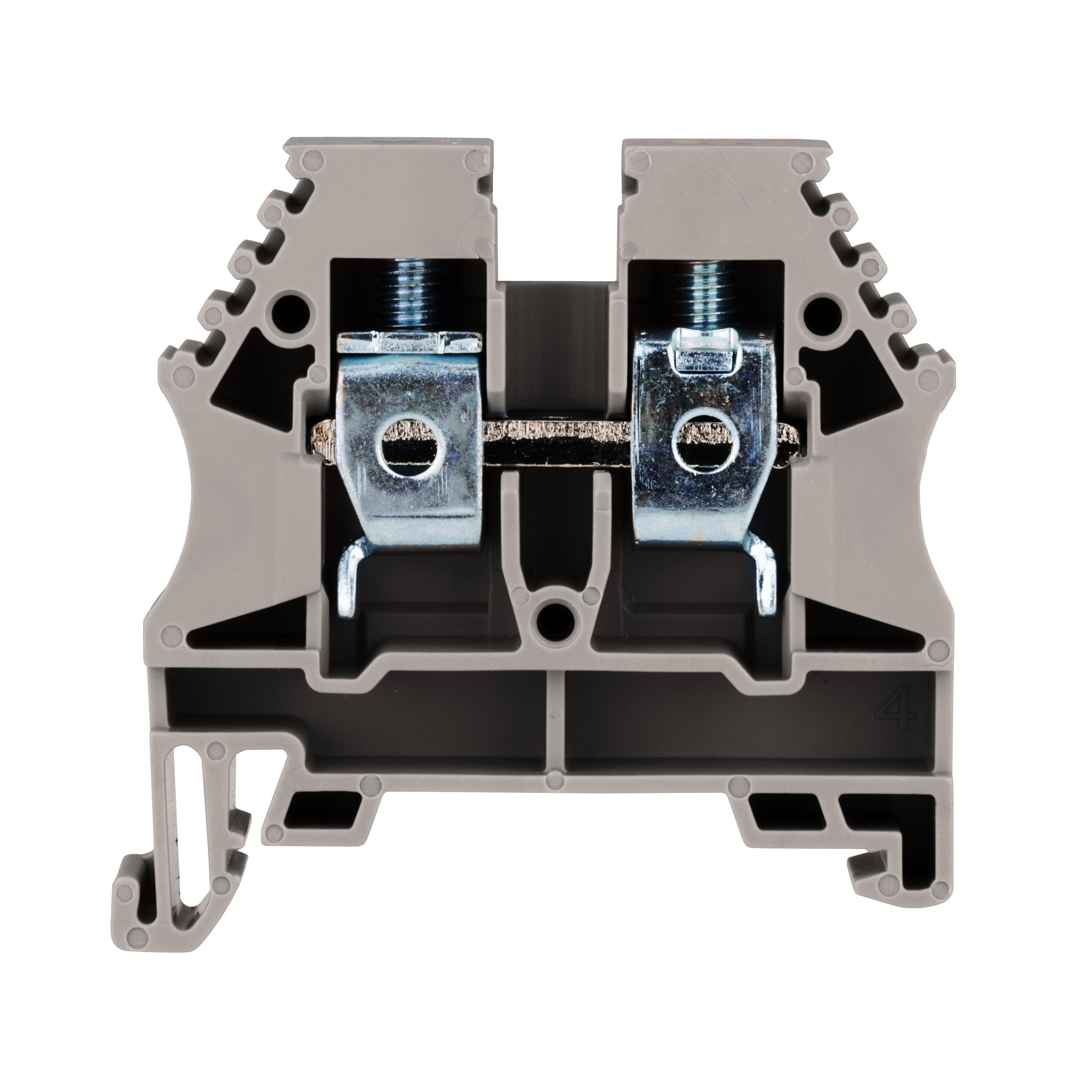 1 Stk Reihenklemme 10mm², Type AVK 10,grau IK600010--