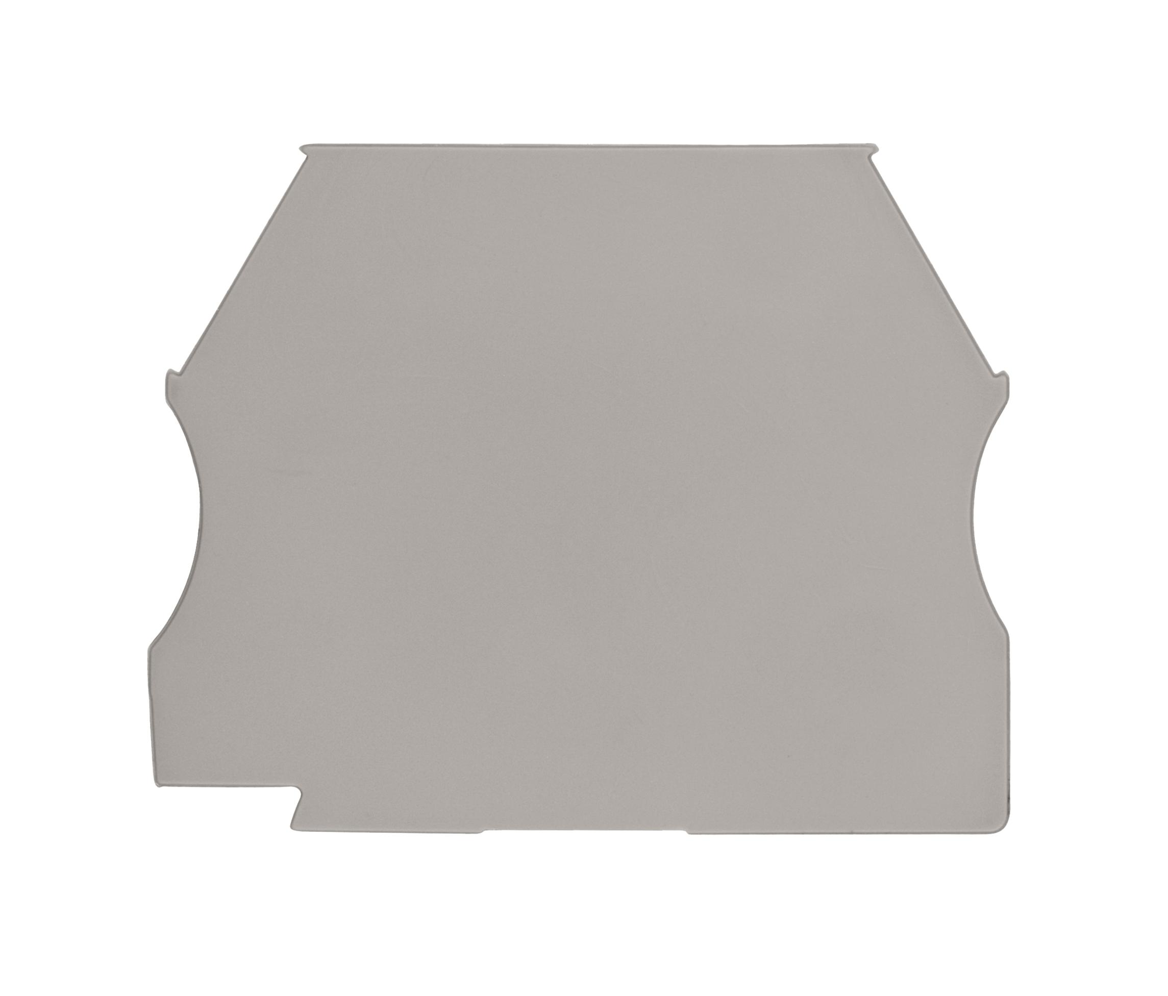 1 Stk Endplatte für Klemmen 2,5-10mm²,Type AVK 2,5, 4, 6, 10,grau IK600210--