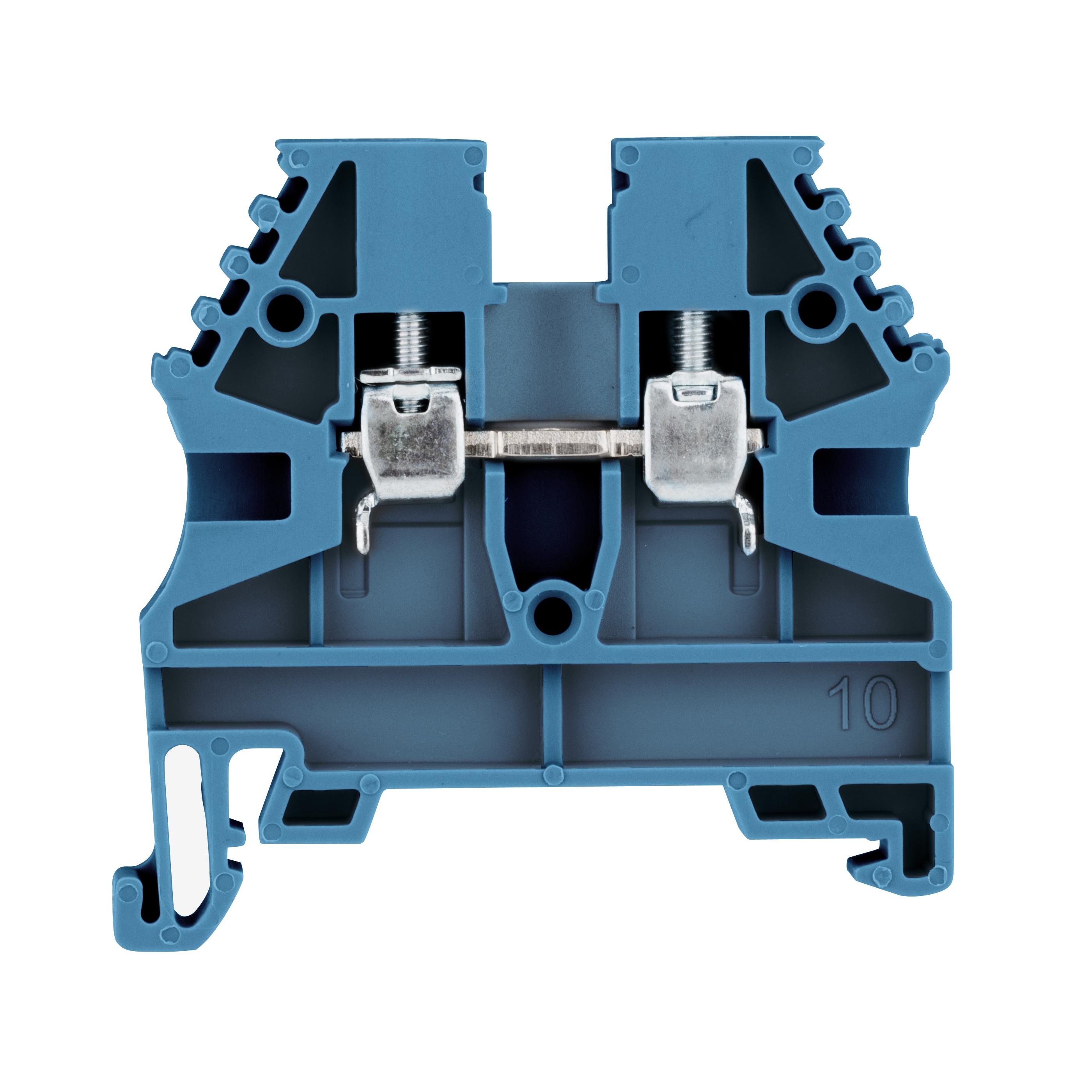 1 Stk Reihenklemme 2,5mm² AVK 2,5, blau IK601002--