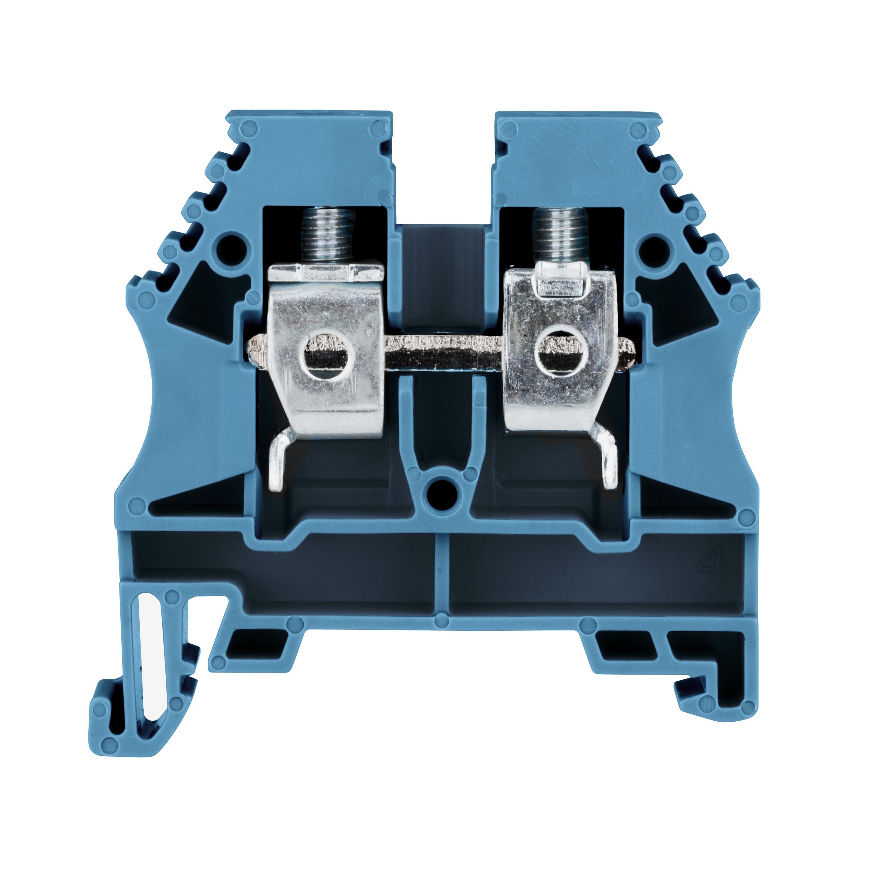 1 Stk Reihenklemme 10mm² AVK 10, blau IK601010--
