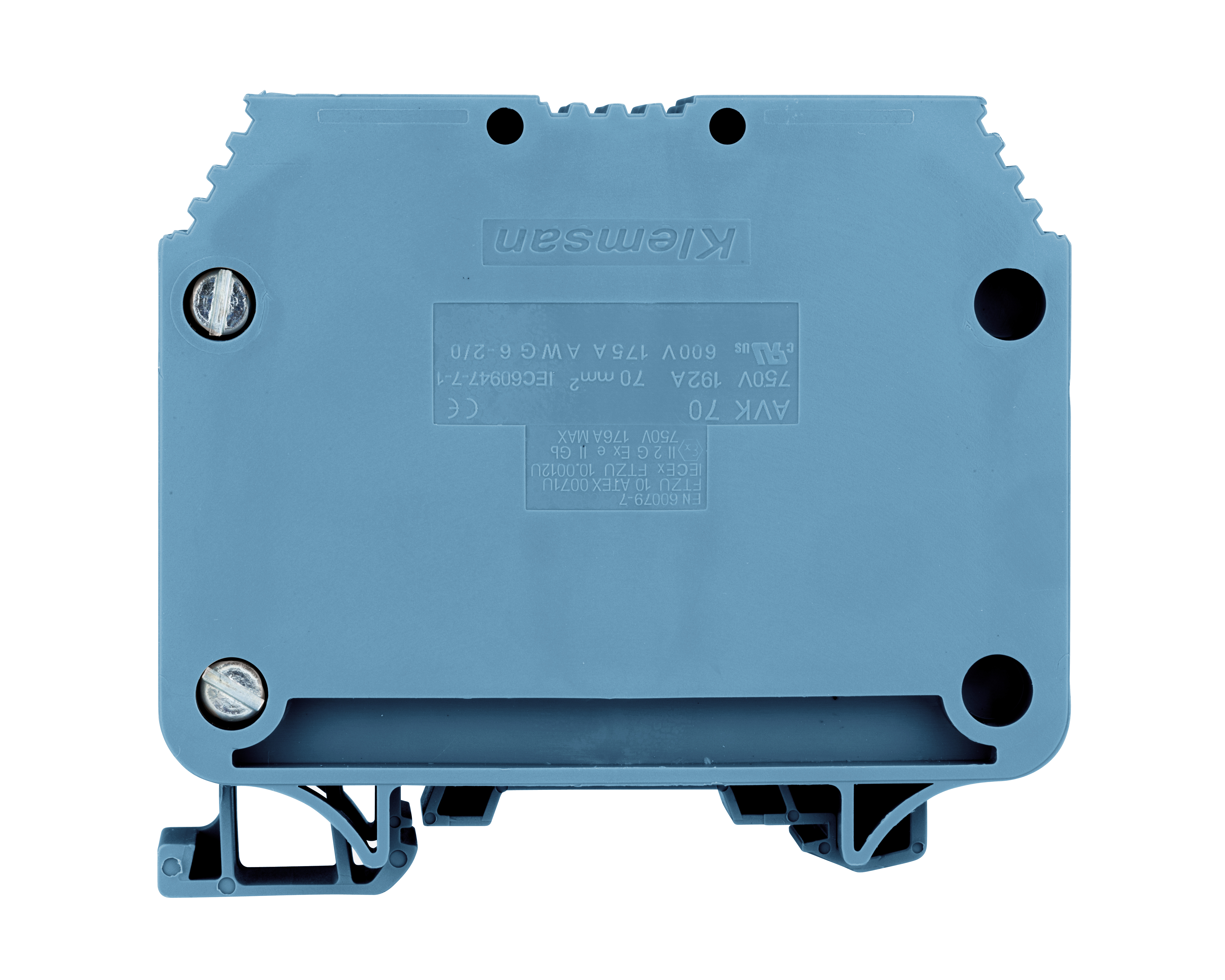 1 Stk Reihenklemme 70mm² AVK 70, blau IK601070--