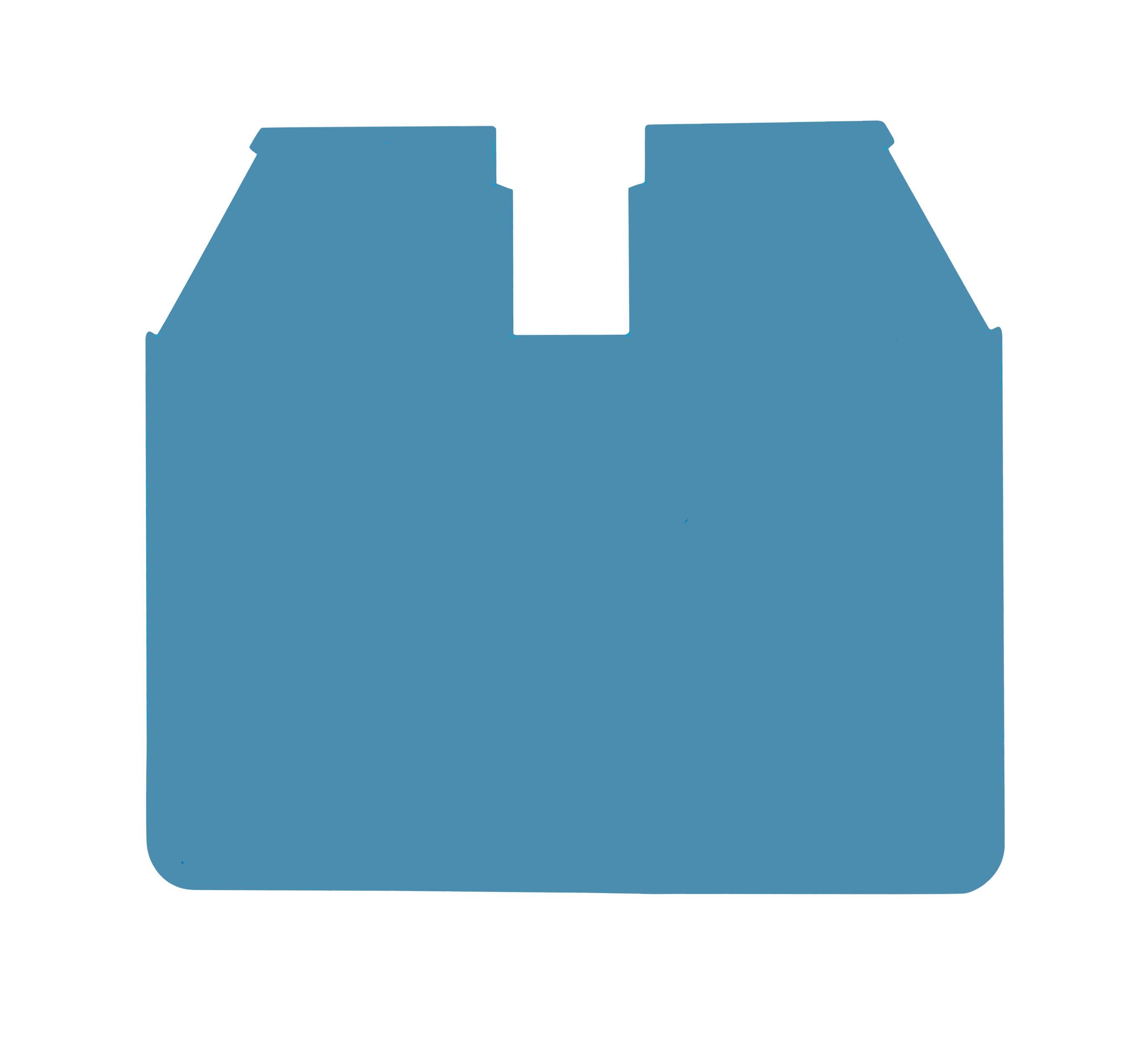 1 Stk Endplatte für 16mm² Klemmen, Type AVK 16 RD, blau IK601216-A