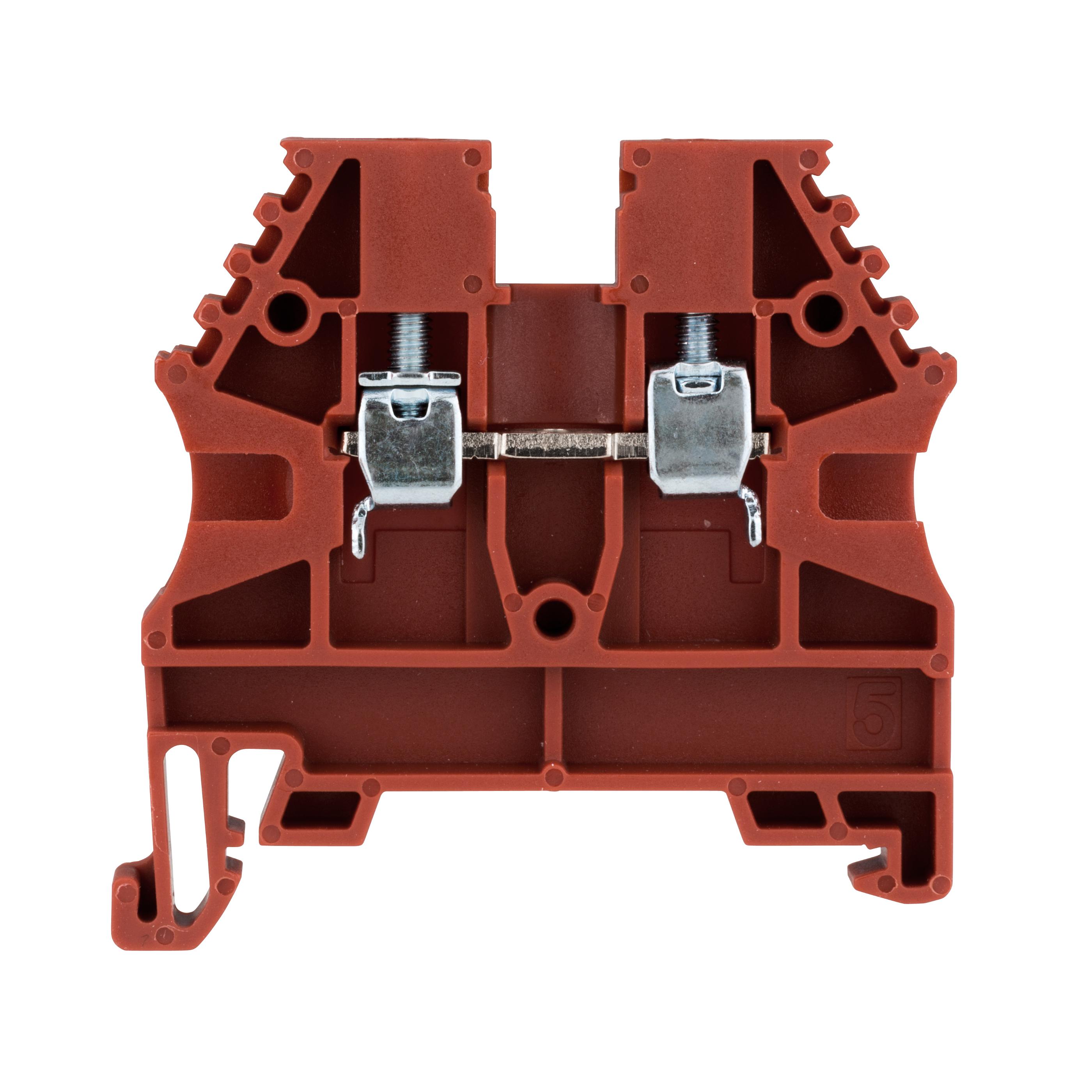 1 Stk Reihenklemme 2,5mm² AVK 2,5, rot IK608002--