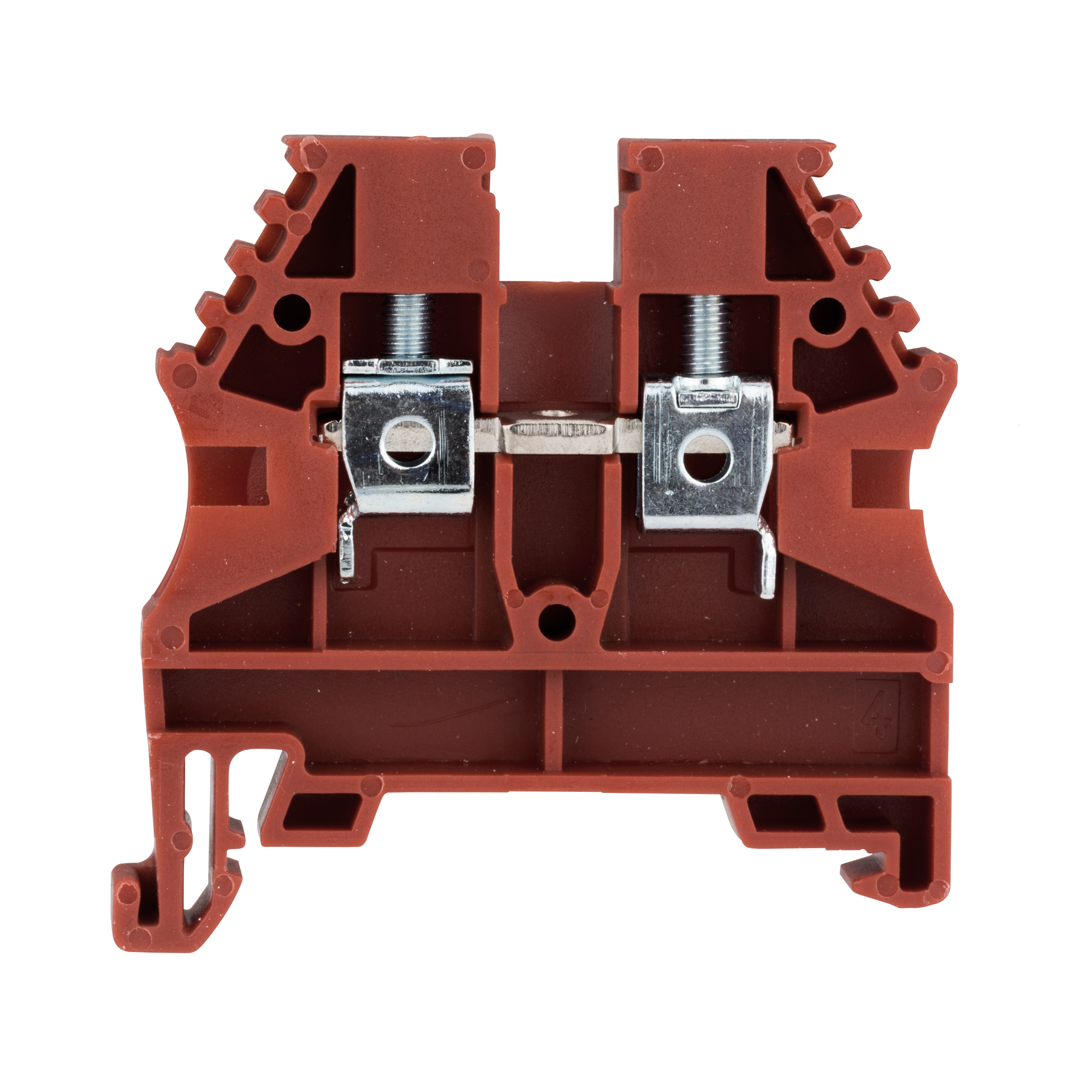 1 Stk Reihenklemme 4mm² AVK 4, rot IK608004--