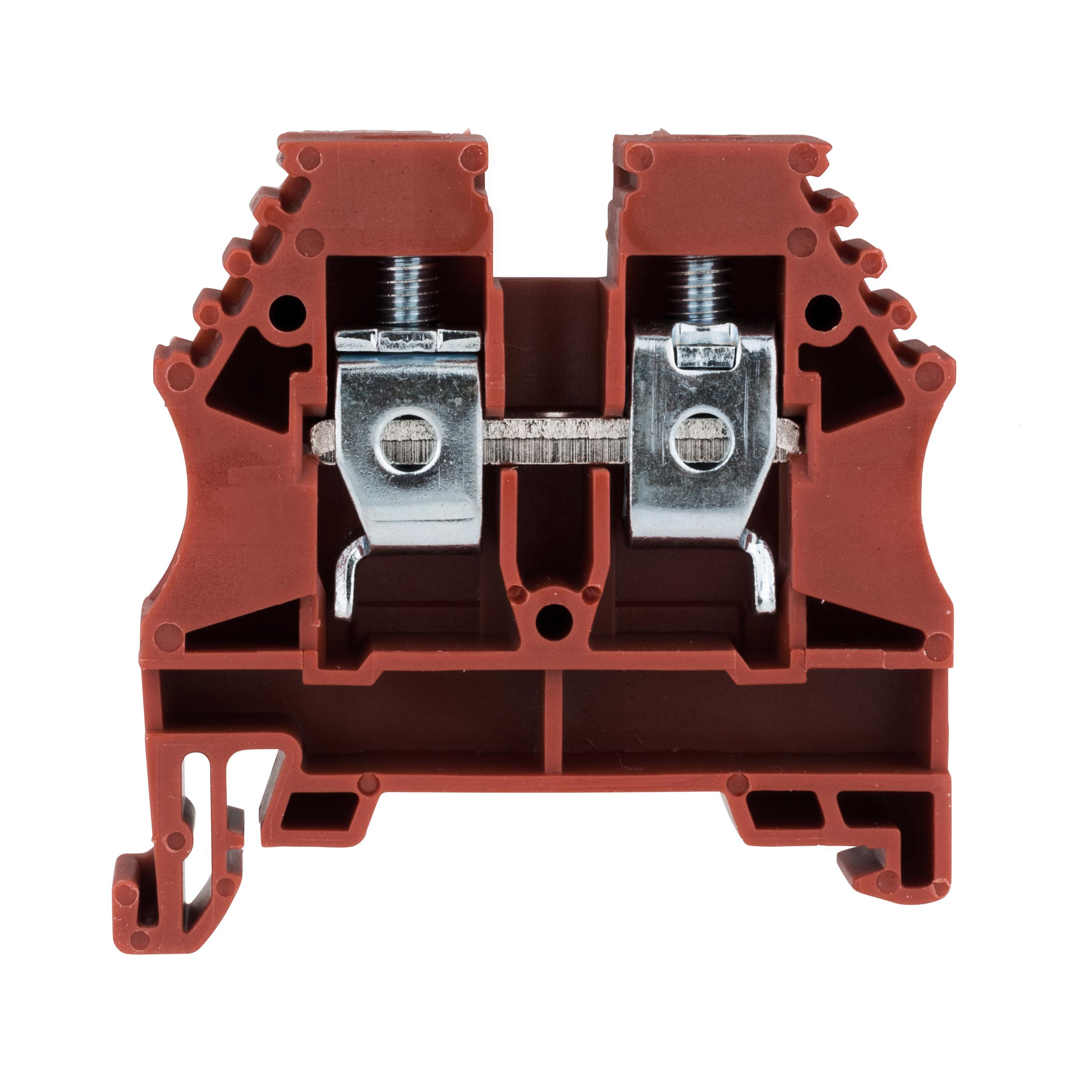 1 Stk Reihenklemme 10mm², Type AVK 10, rot IK608010--