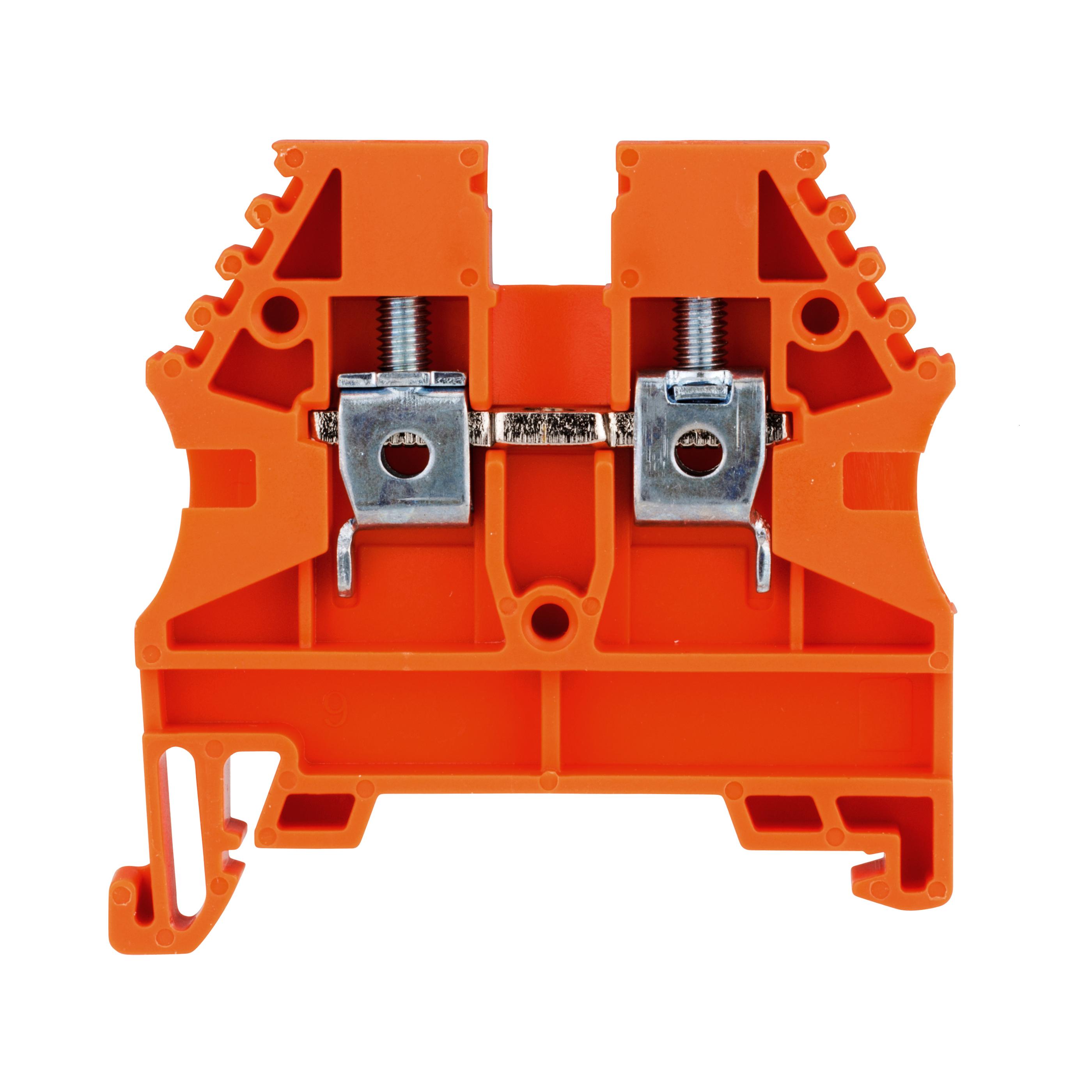 1 Stk Reihenklemme 4mm² AVK 4, orange IK608014--