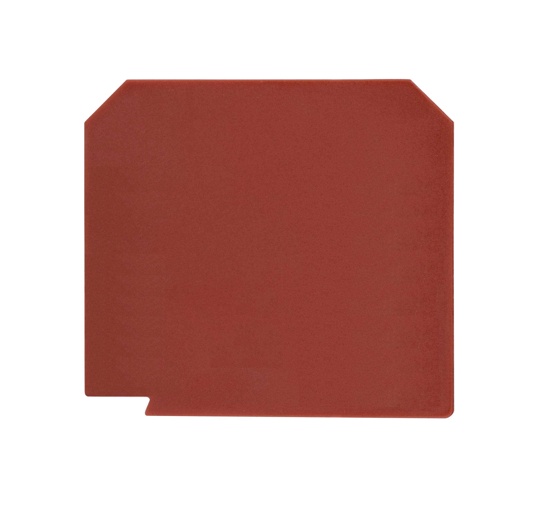 1 Stk Trennplatte für Klemmentype AVK 2,5, 4, 6, 10, rot IK608210--