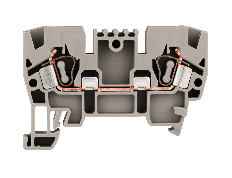 1 Stk Federkraftklemme Type YBK 4mm², grau IK610004--