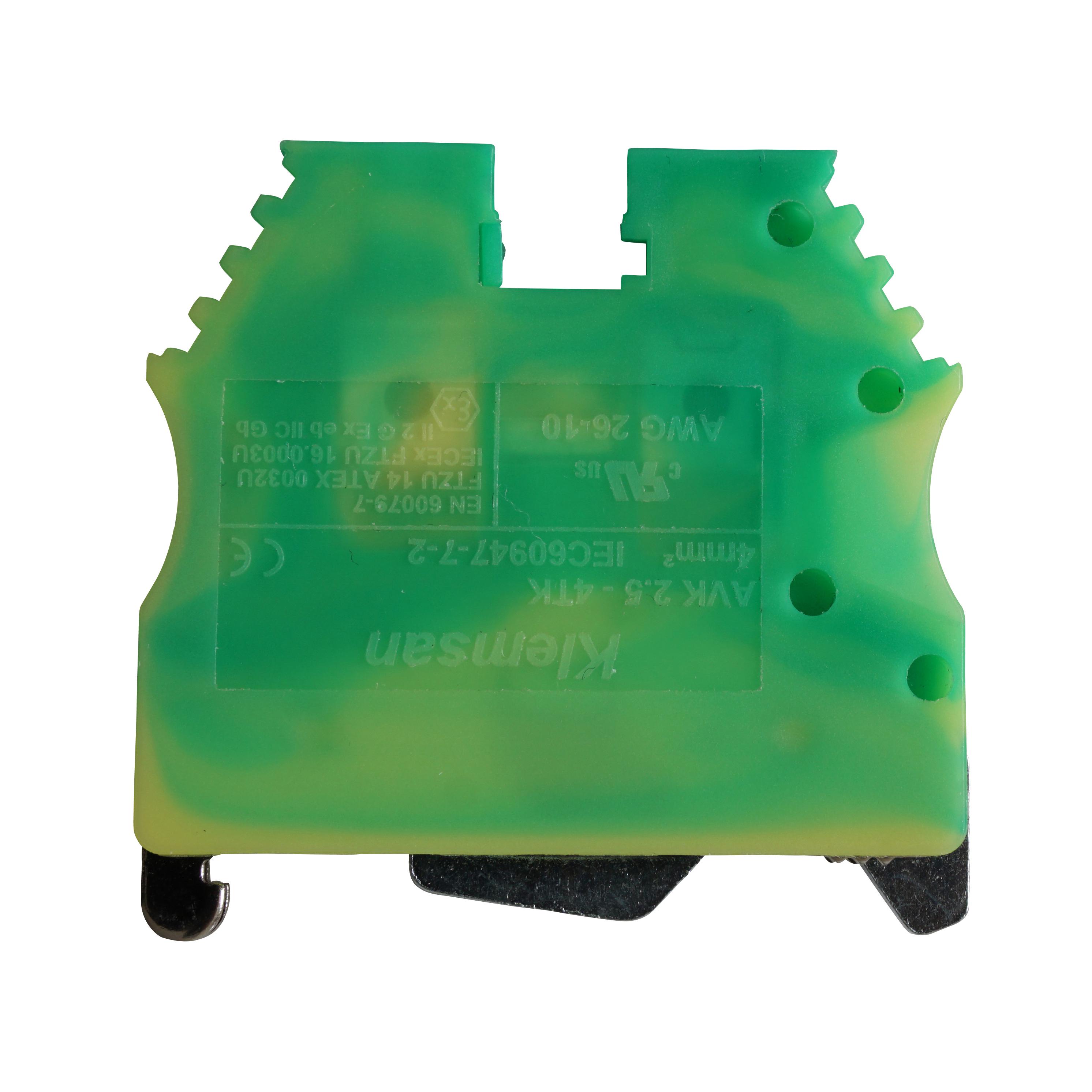 1 Stk Schutzleiterklemme 2,5-4mm², Type AVK 2,5/4 T IK622002--