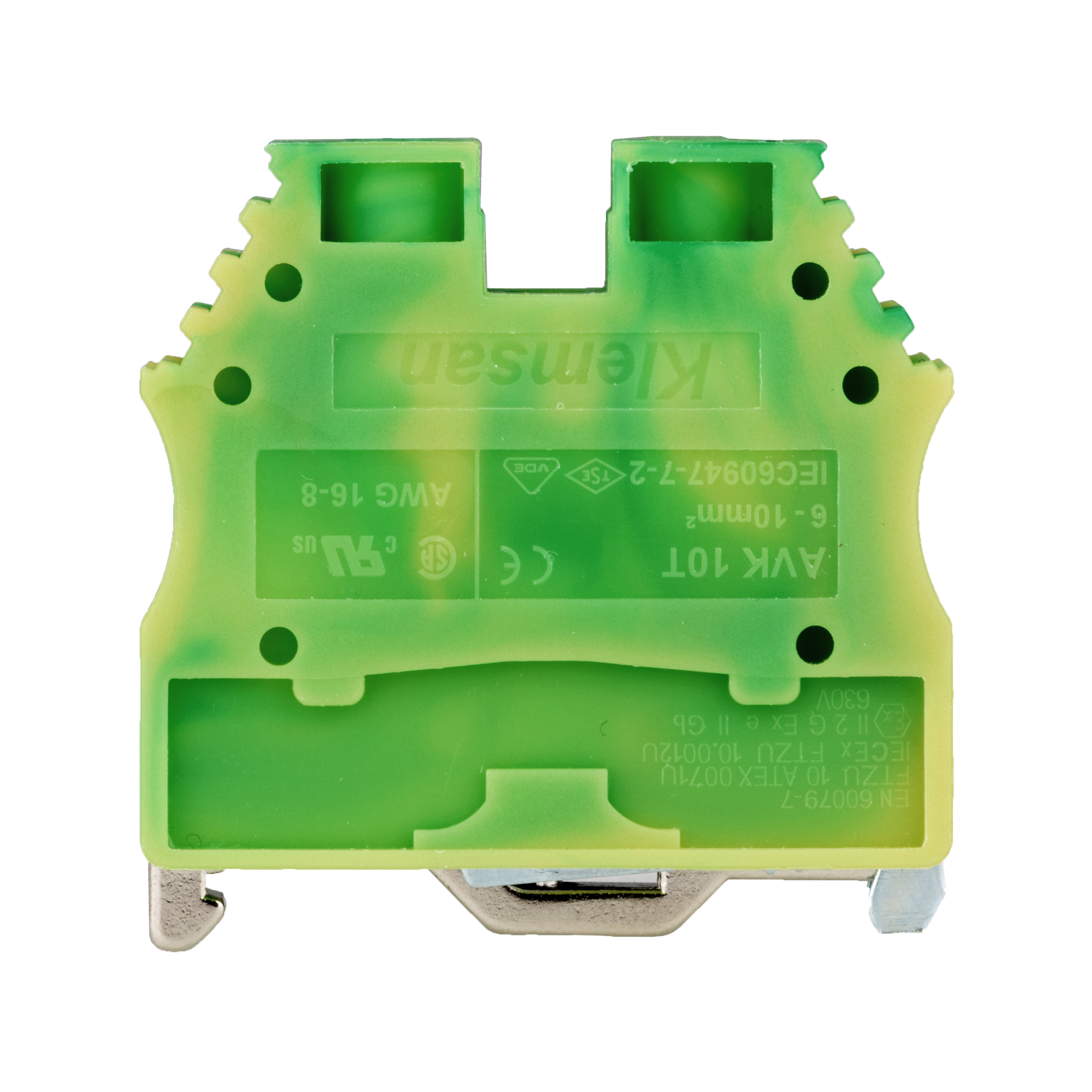 1 Stk Schutzleiterklemme 6-10mm², Type AVK 6/10 T IK622010--