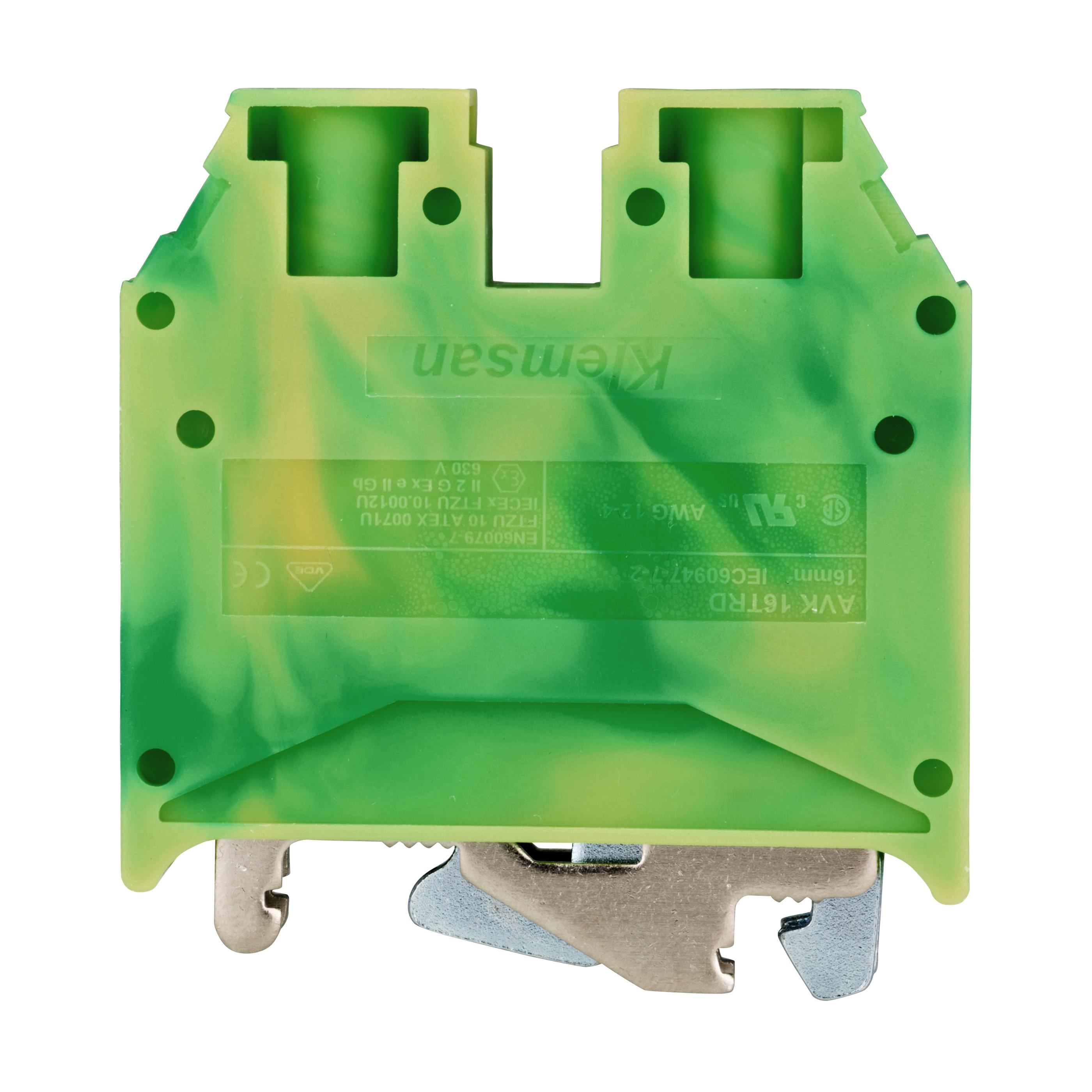 1 Stk Schutzleiterklemme 16mm², Type AVK 16T RD IK622016-A