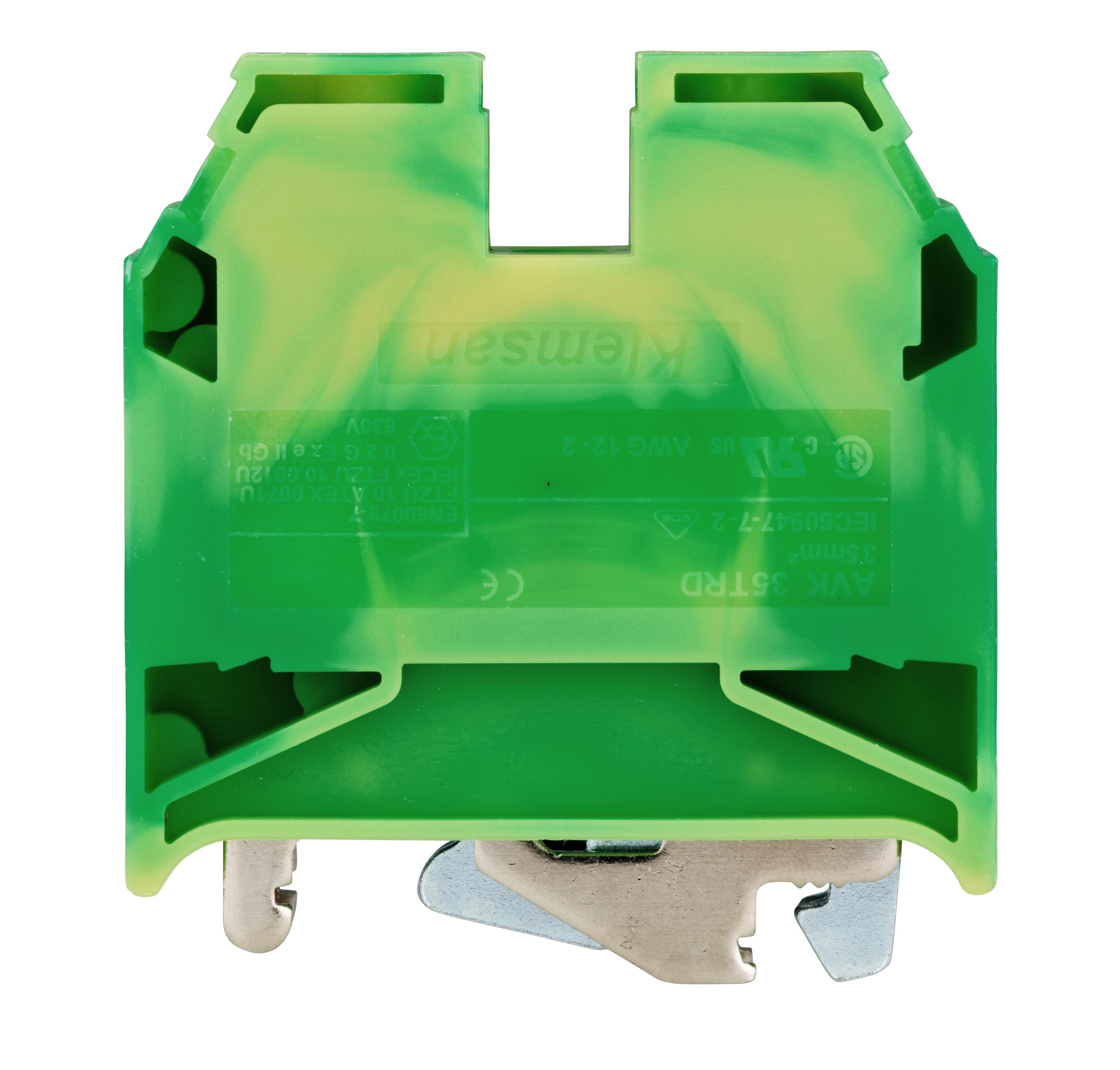 1 Stk Schutzleiterklemme 35mm², Type AVK 35T RD IK622035-A