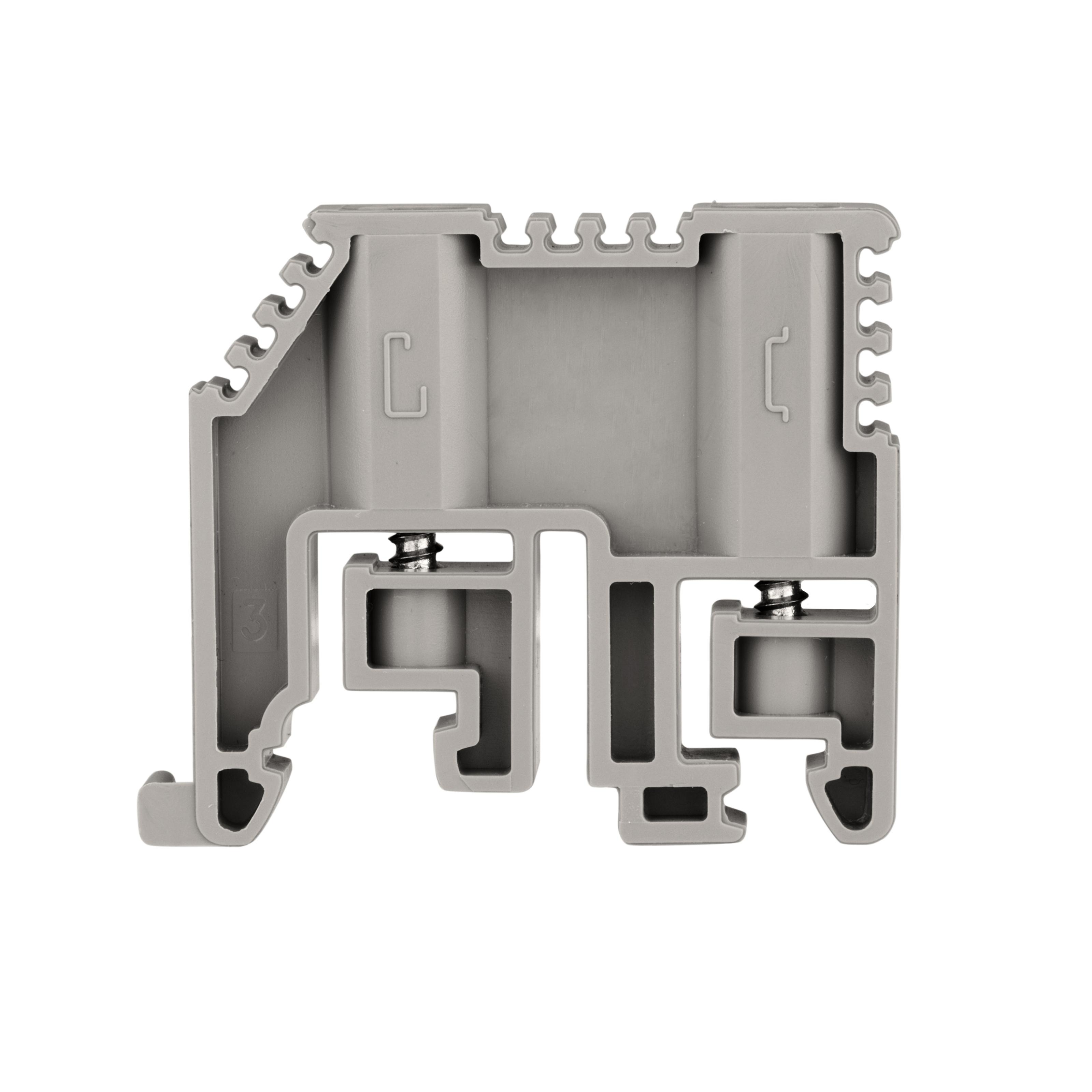 1 Stk Endhalter für DIN-Schiene, schnappbar IK623000--