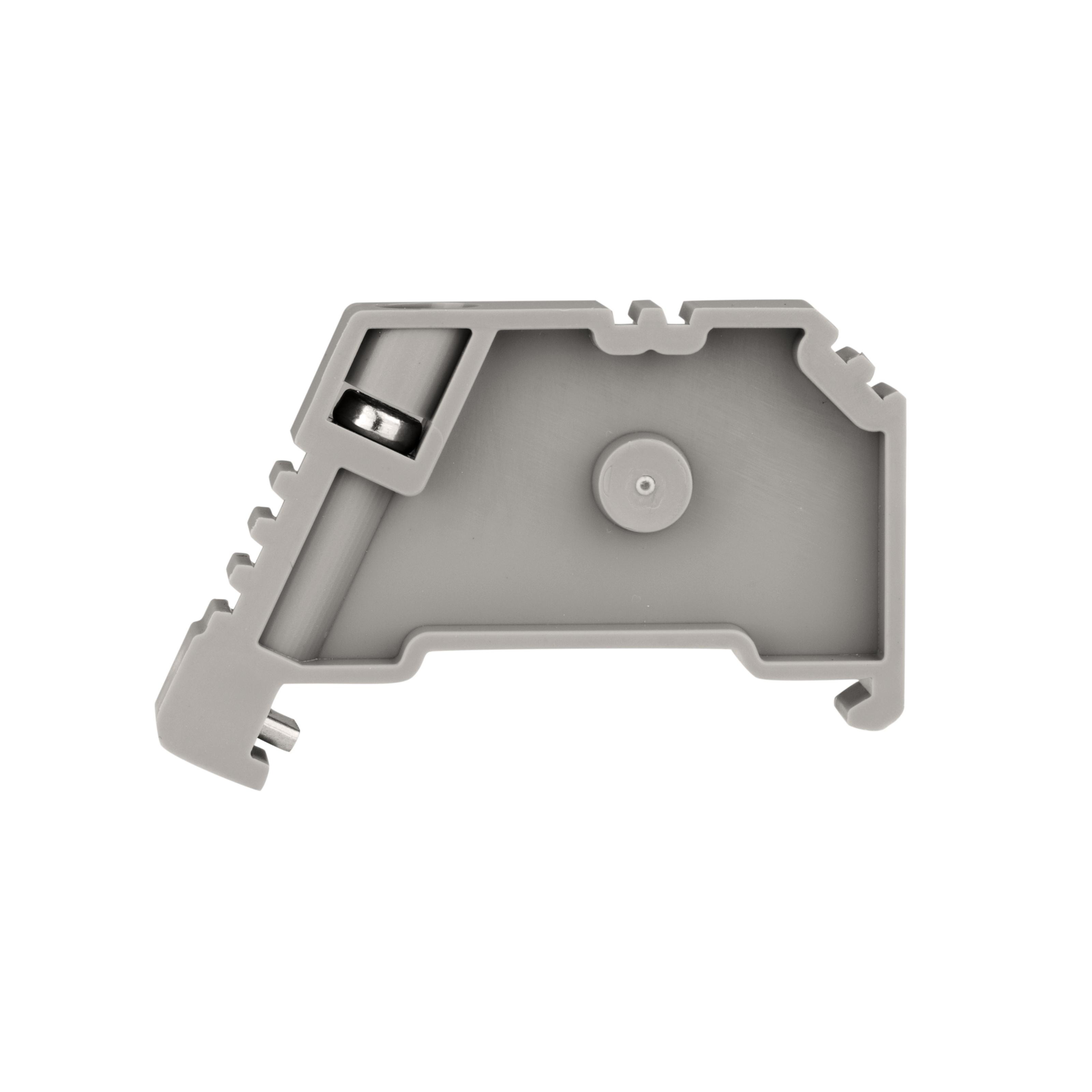 1 Stk Endhalter für DIN-Schiene, schraubbar IK623001--