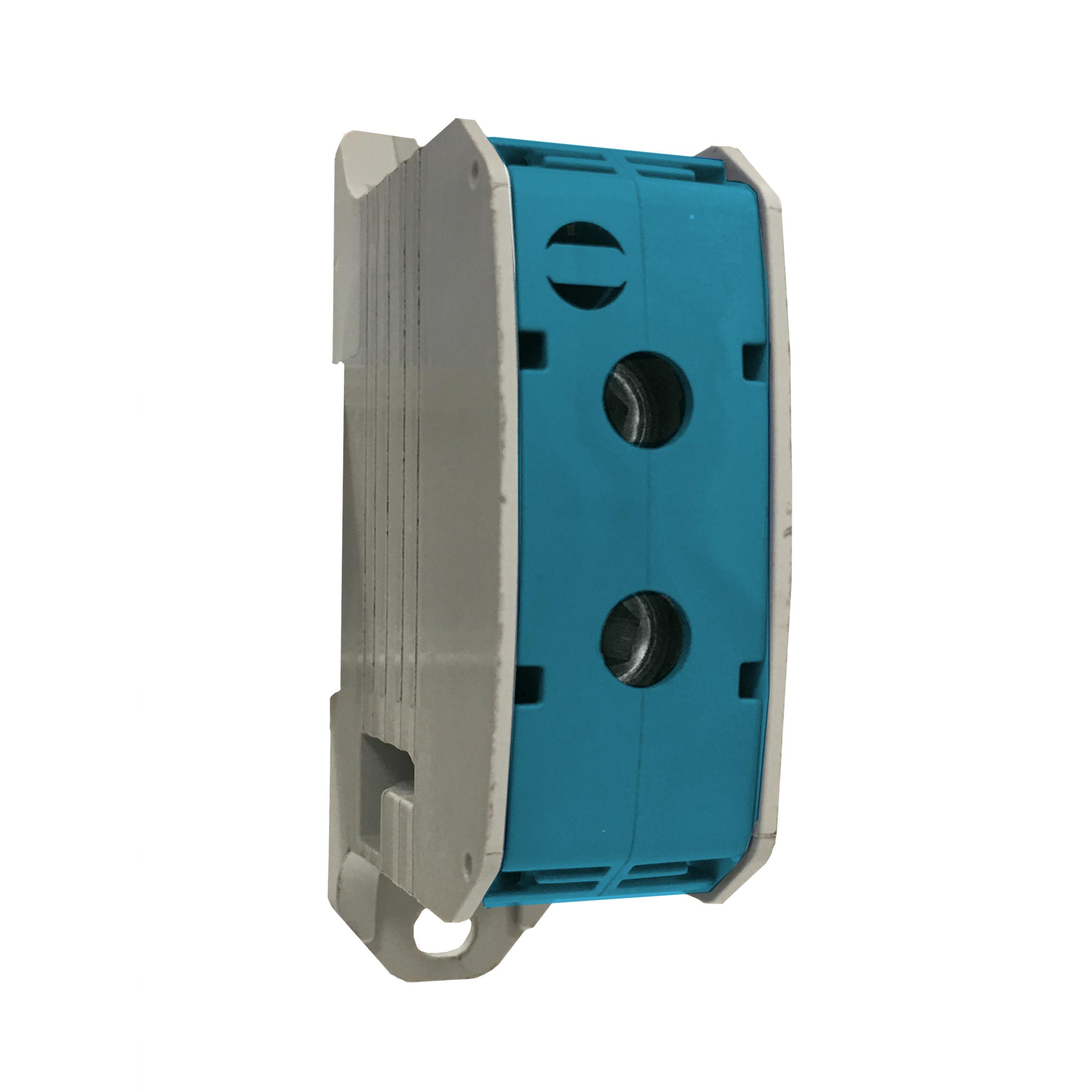 1 Stk Aluminium /Kupfer Klemme, 1-polig, 185mm² blau IKA21520--