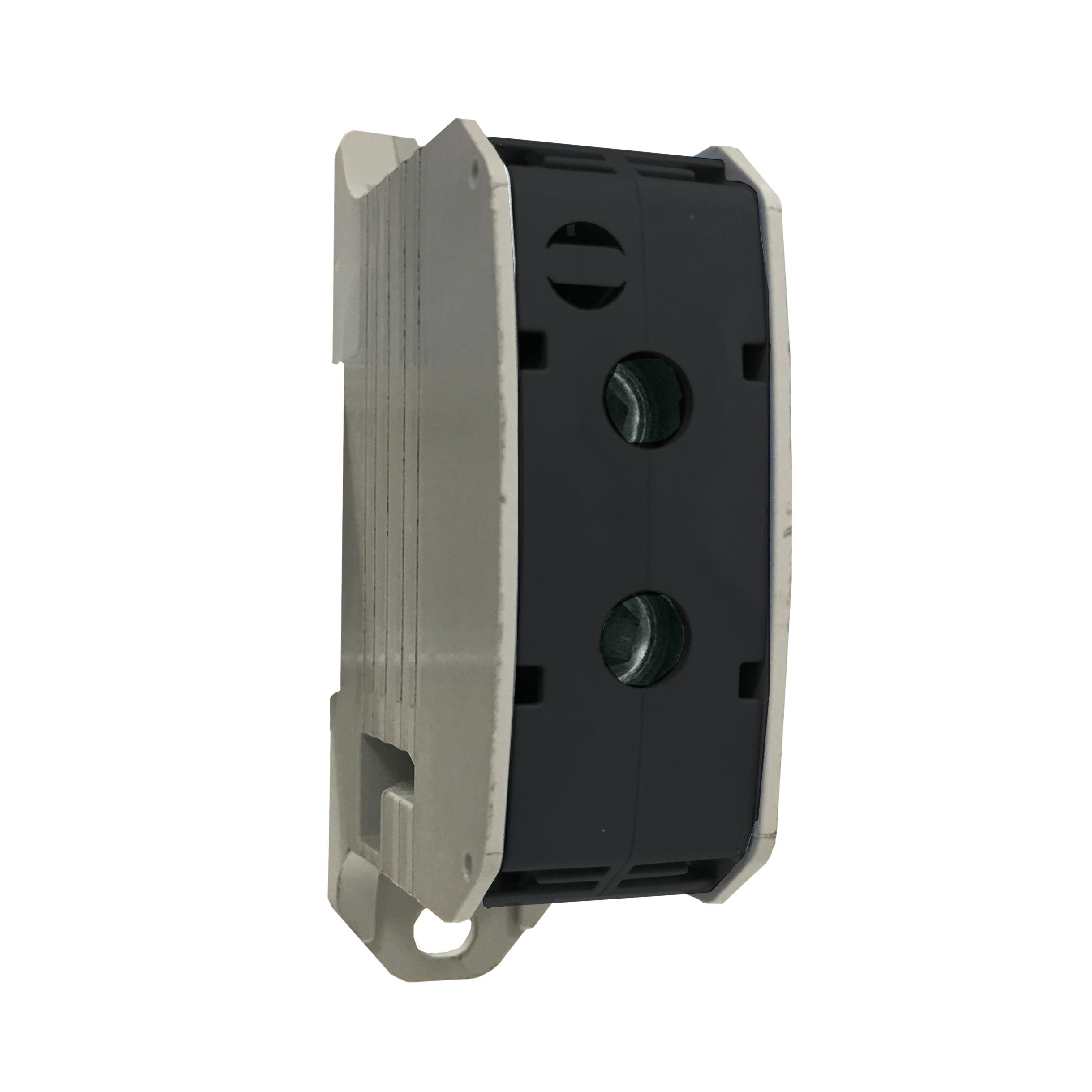 1 Stk Aluminium /Kupfer Klemme, 1-polig, 185mm² schwarz IKA21550--