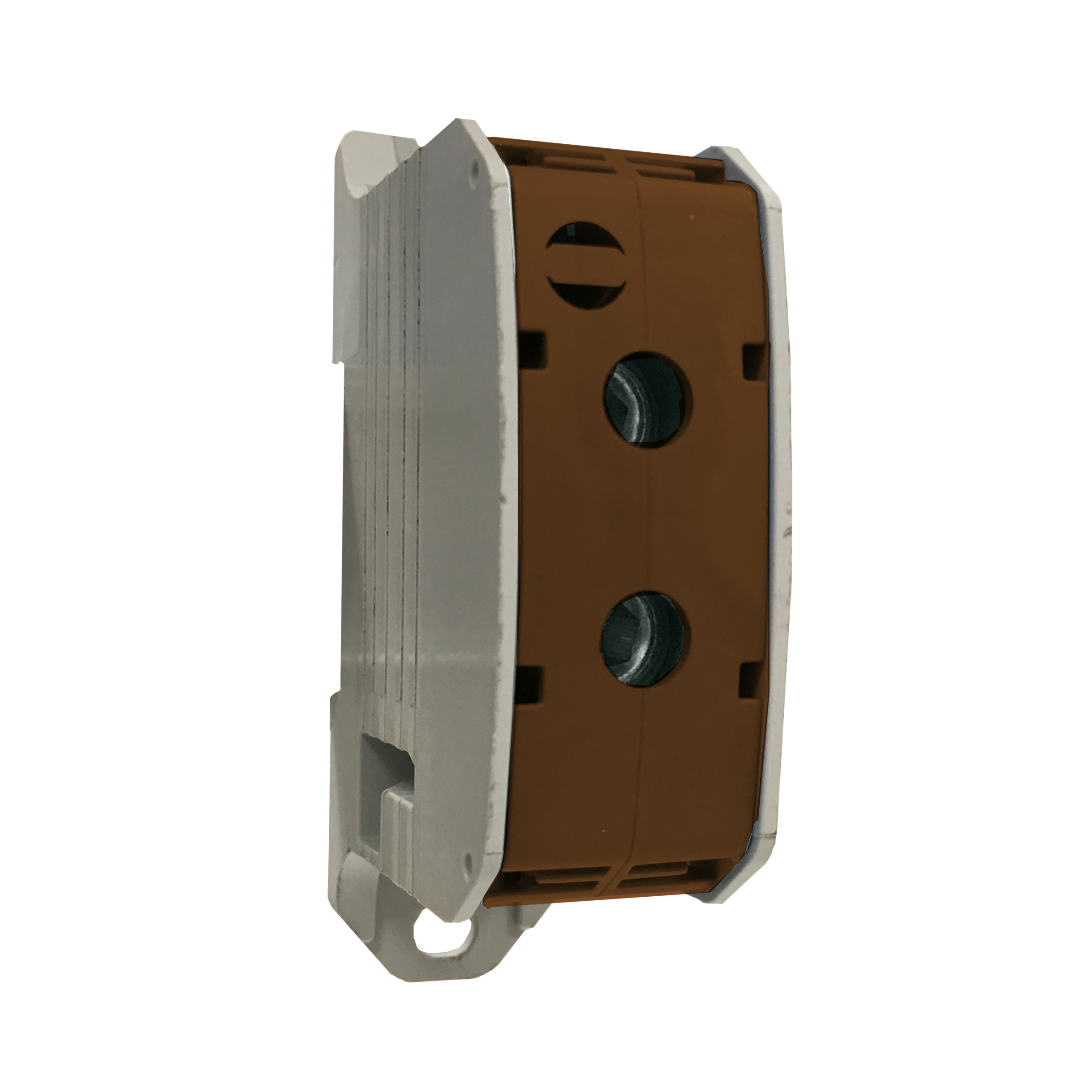 1 Stk Aluminium /Kupfer Klemme, 1-polig, 300mm² braun IKA21740--