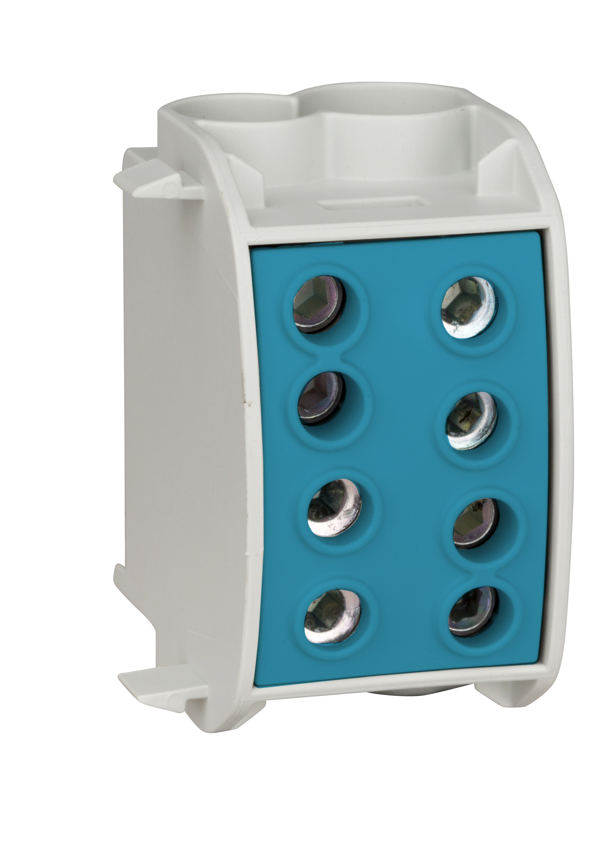 1 Stk Al-Hauptleitungsabzweigklemme 70mm² - 1p, isoliert, blau IKA26320--