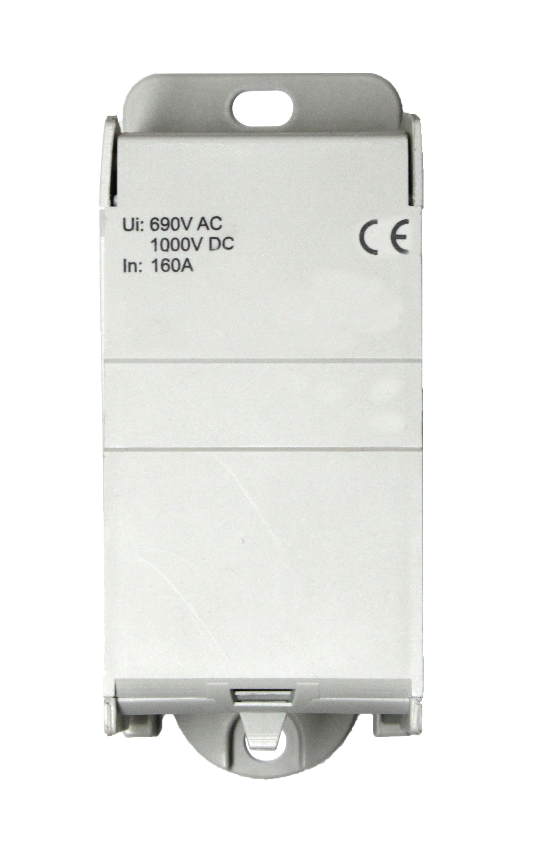1 Stk Anschlussblock, 1-polig, 160A, zu 1x70mm², ab 8x16mm² IKB01170--