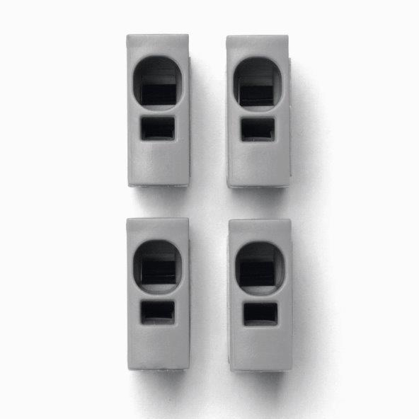 1 Stk Toolless connection Plug grau IKBC0001--
