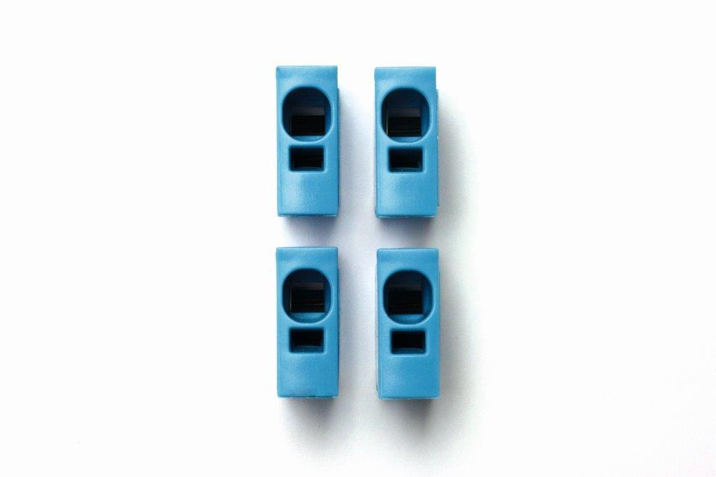 1 Stk Toolless Connection - Steckmodul blau IKBC0002--