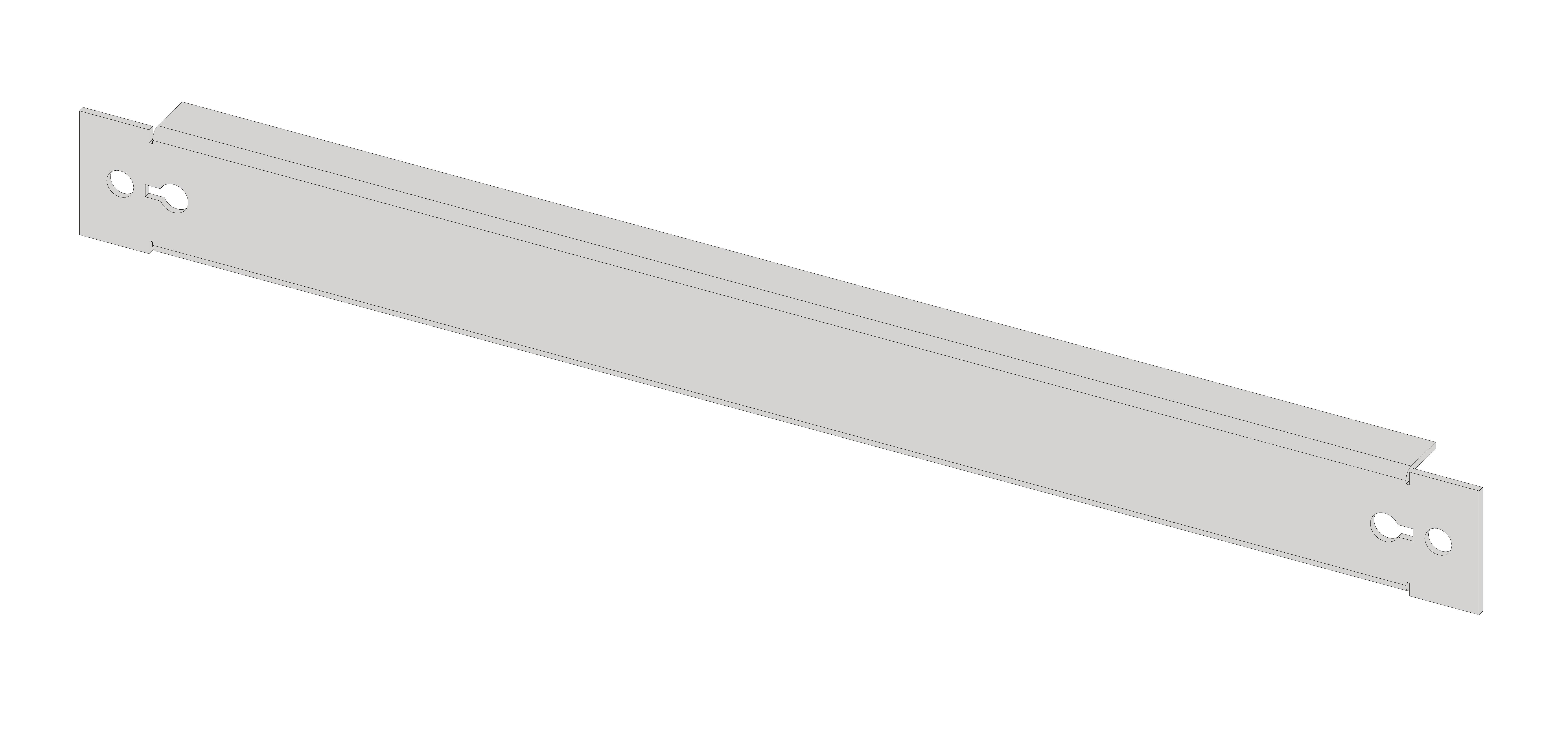 1 Stk Blindfrontplatte 2B1K Kunststoff IL066201-H