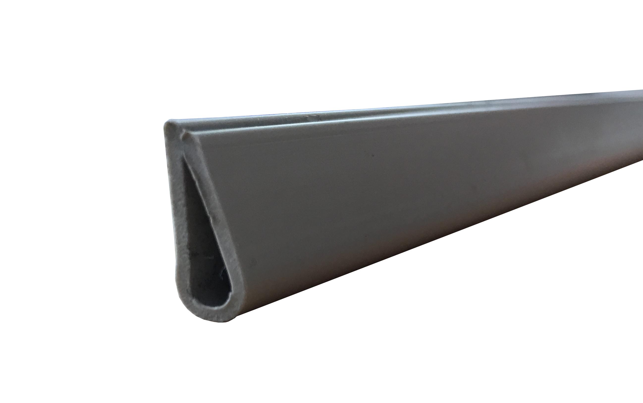 1 Stk Kantenschutzprofil PVC, 1000mm, grau IL14030---