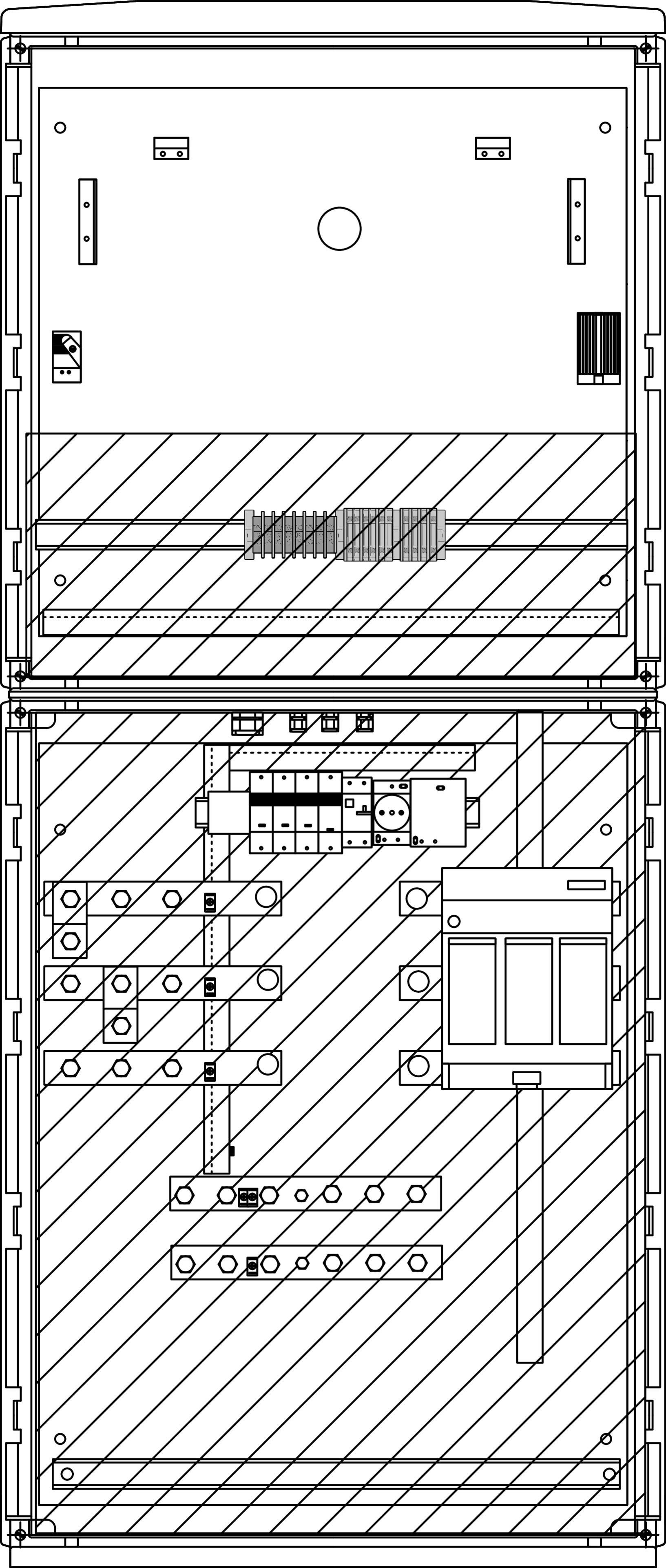 1 Stk Messwandler 400A Freiluft mit Heizung IL190241--