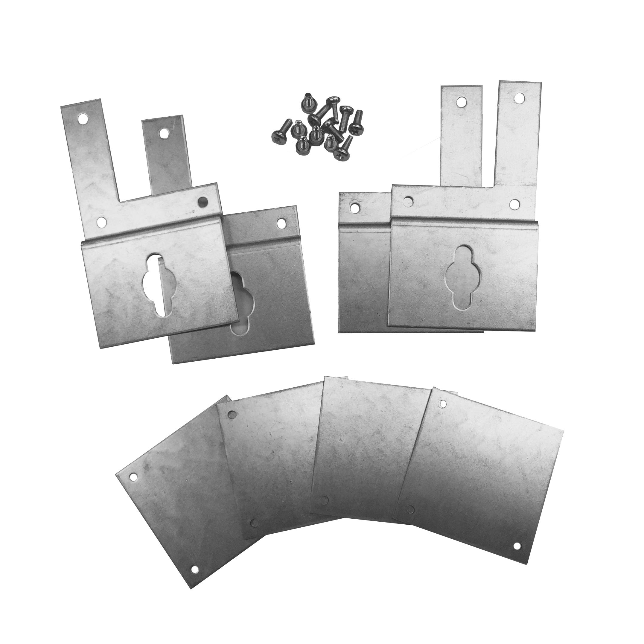 1 Stk Wandbefestigungslaschen-Set für alle AP-Modul 2000 IL900020-F