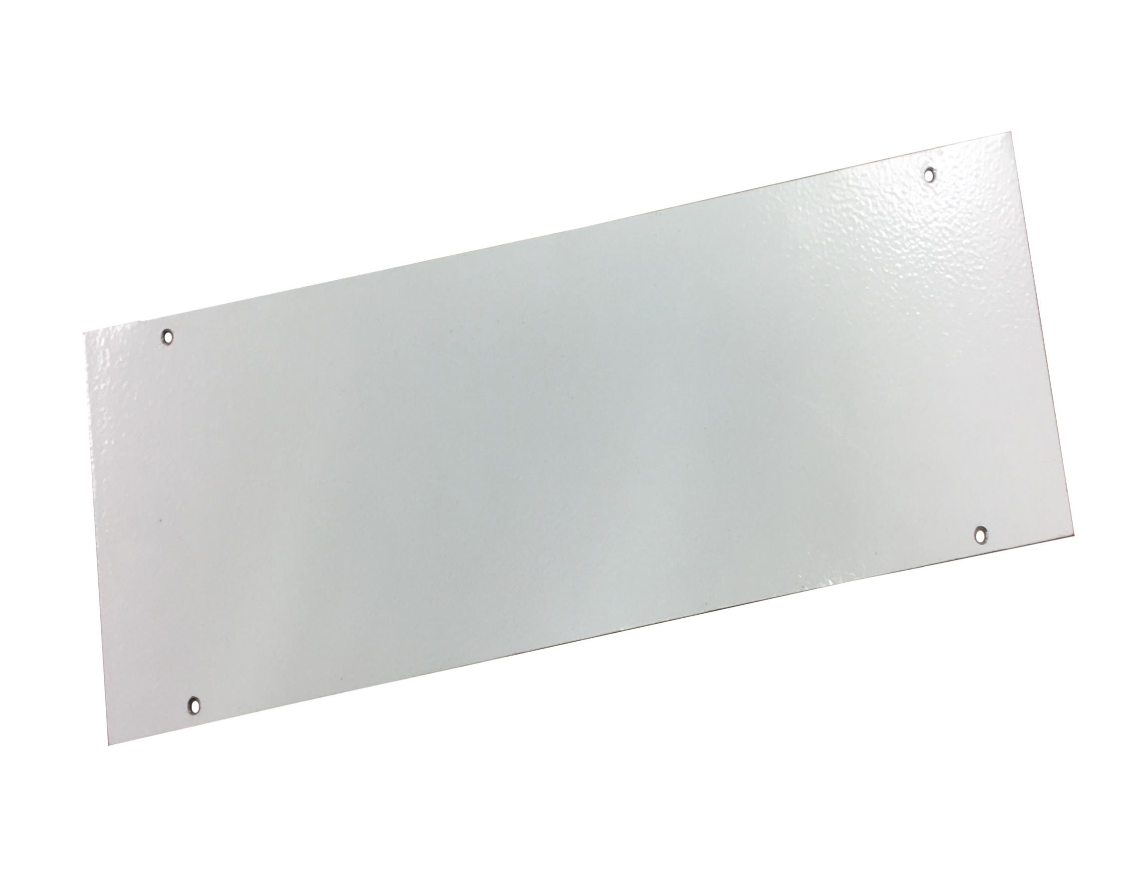 1 Stk Blindflansch IP20C, IL006/009/036 Breite1, 296x130x2mm IL900091--