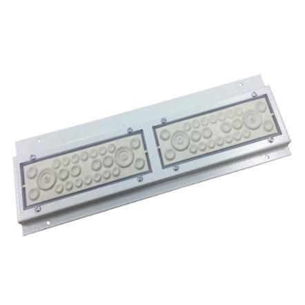 1 Stk Durchst.flansch IP20C,IL006/009/036 Br.2,3,4,5, 426x130x15mm IL900102--
