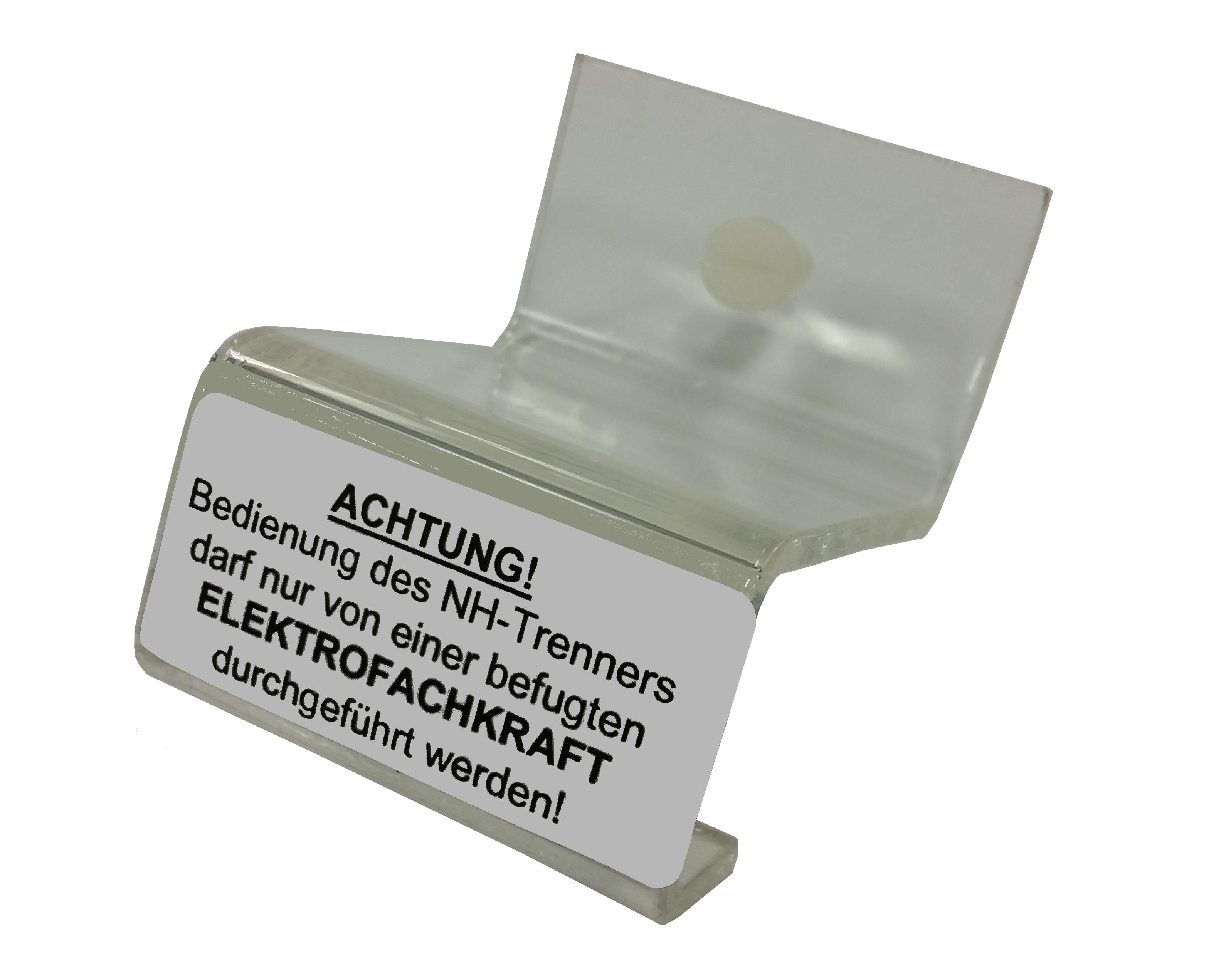 1 Stk Ausschaltsperre für NH-Trenner, Gr. 1 IL900801--