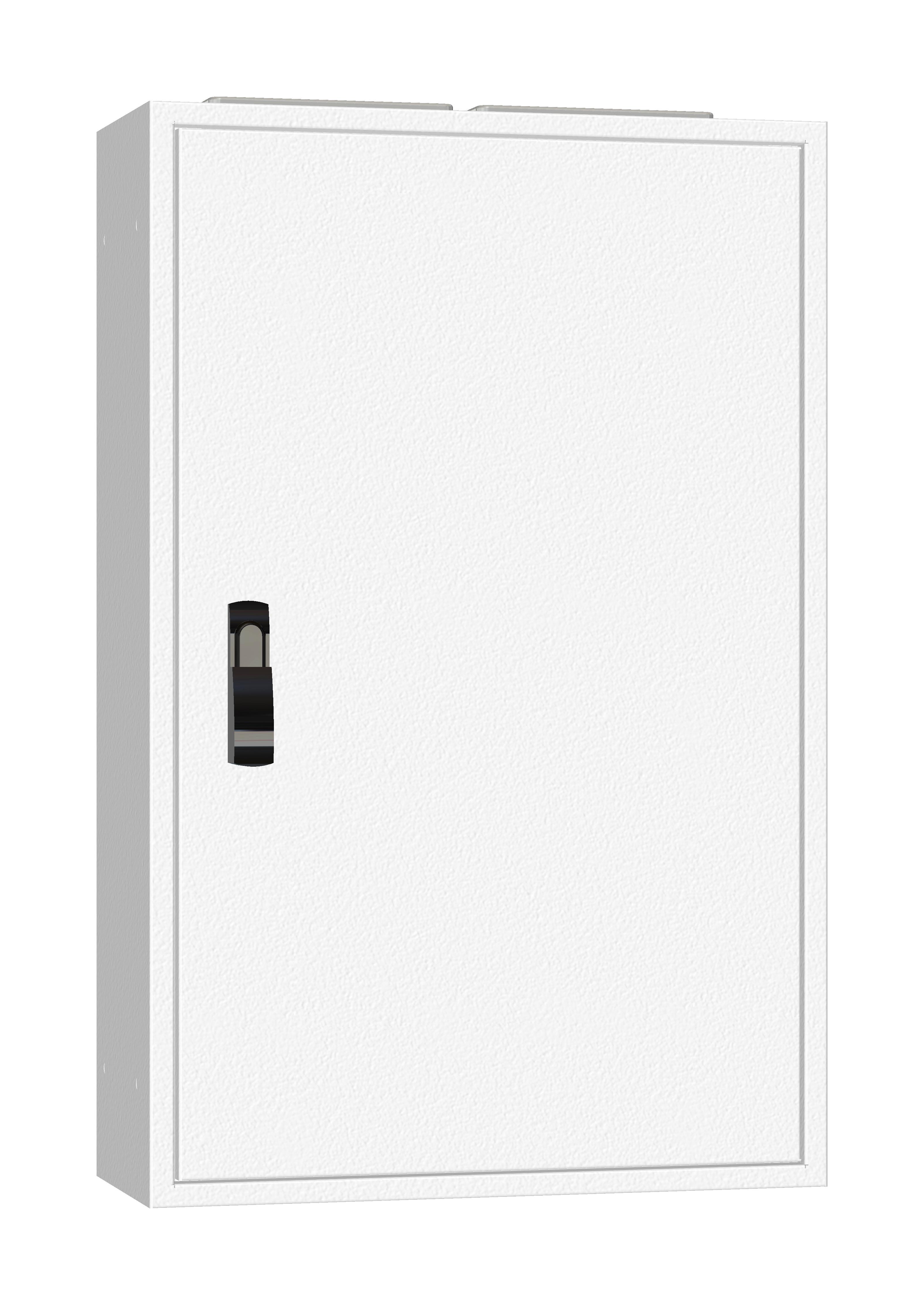 1 Stk AP-Rahmen + Tür 2A-18 T=250mm, Rückwand + Schwenkhebel, IP54 IL952218--