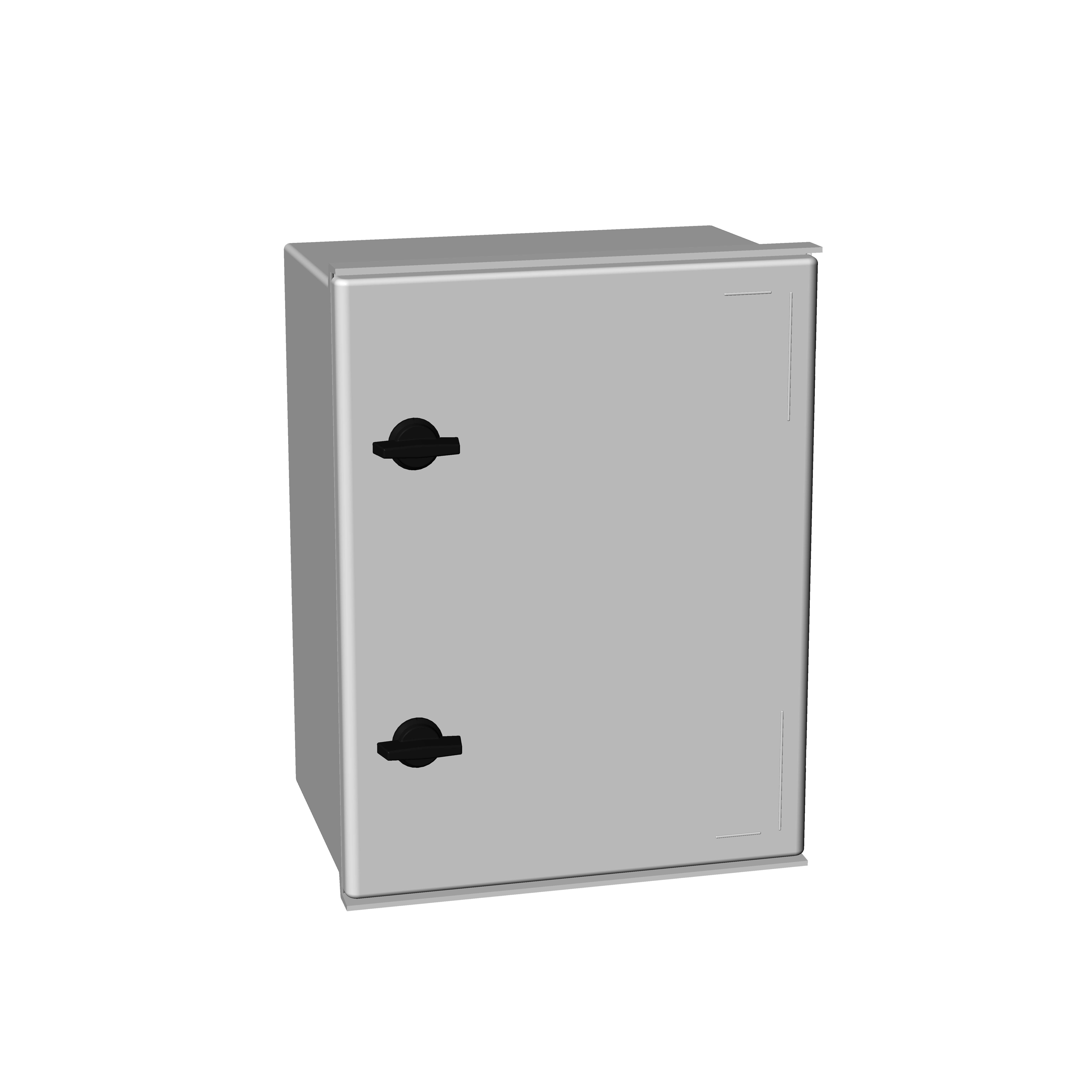 1 Stk Polyester-Wandschrank MINI 400x300x200mm IM008843--