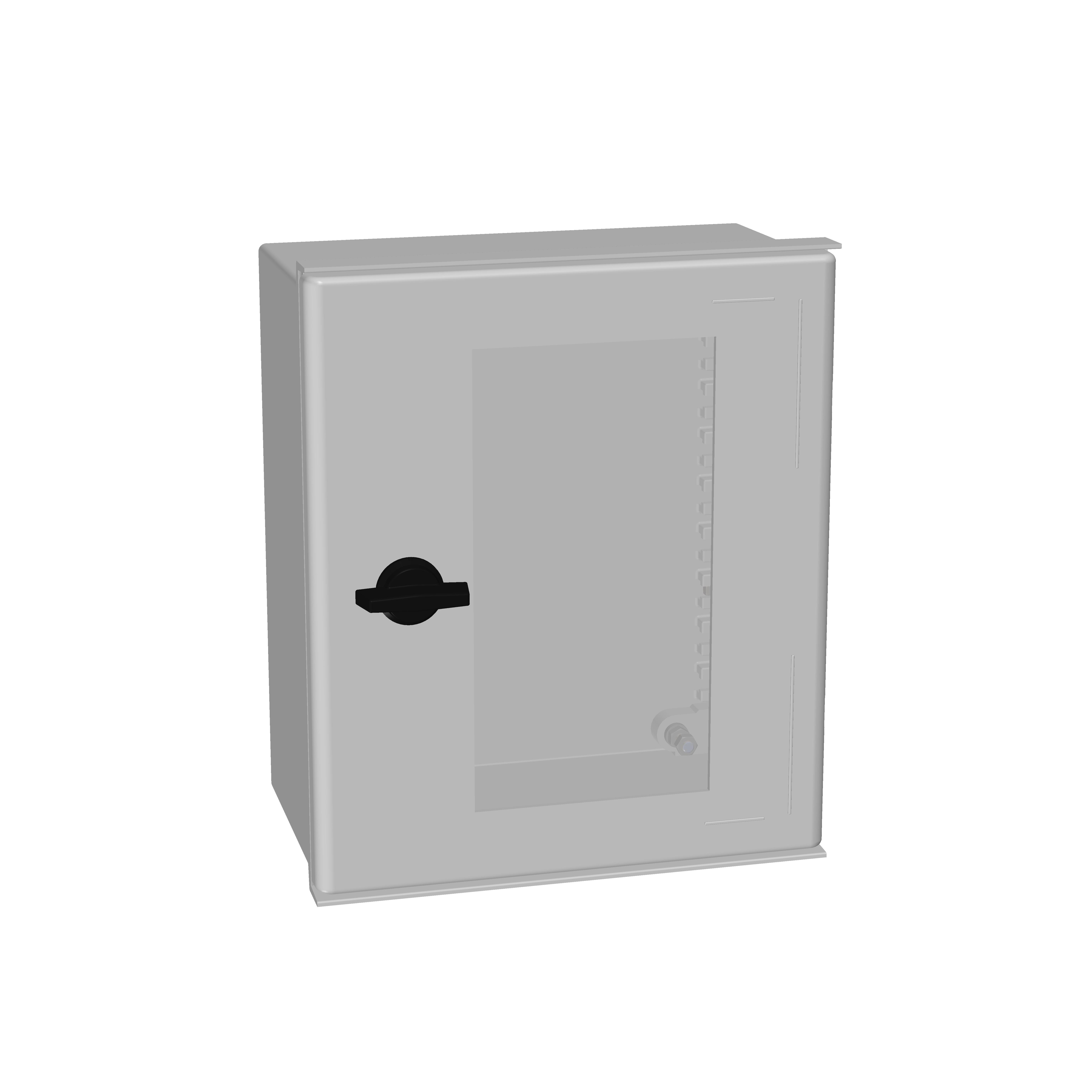 1 Stk Minipol-Wandschrank mit Sichtfenster 300x250x140mm IM008932--
