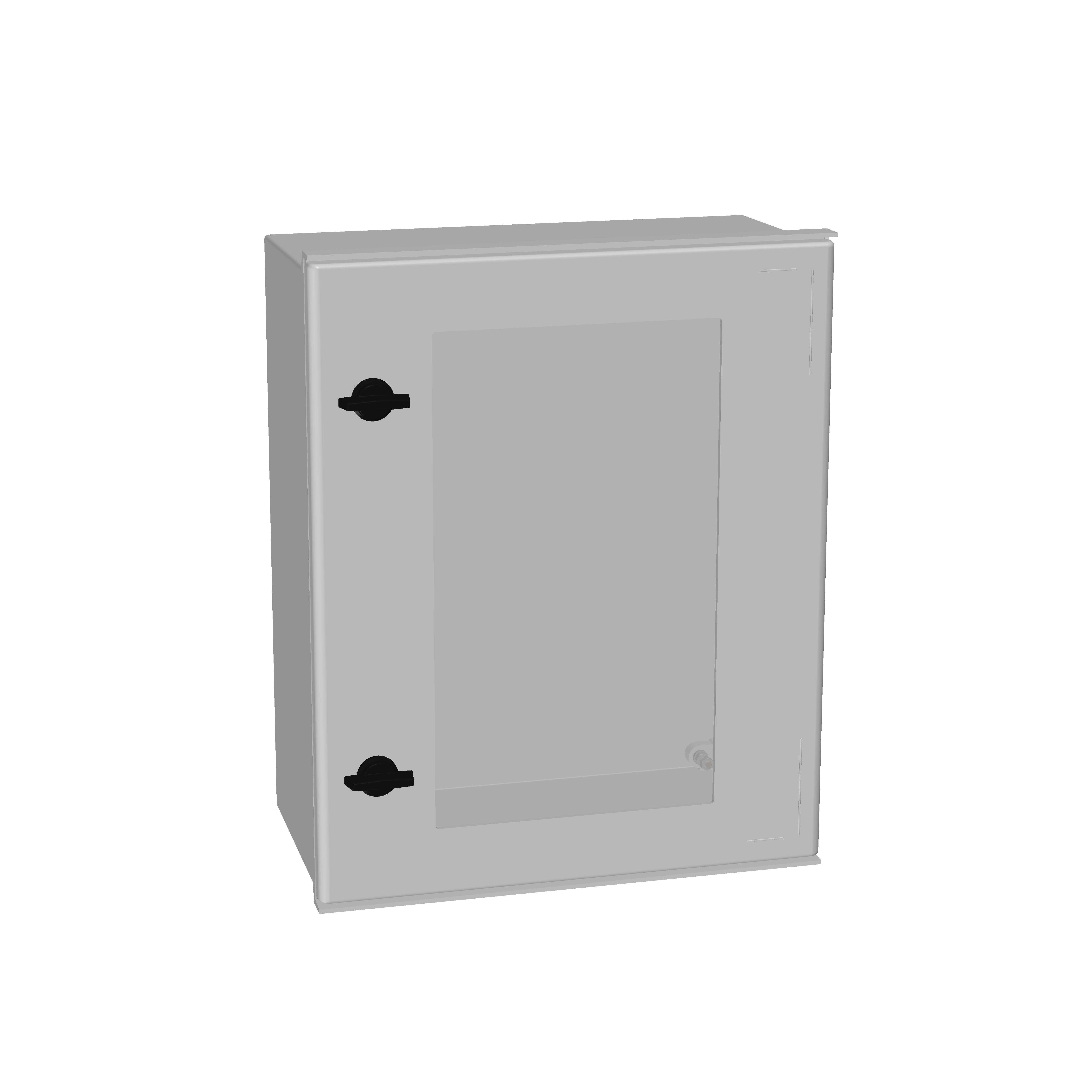 1 Stk Minipol-Wandschrank mit Sichtfenster 500x400x200mm IM008954--