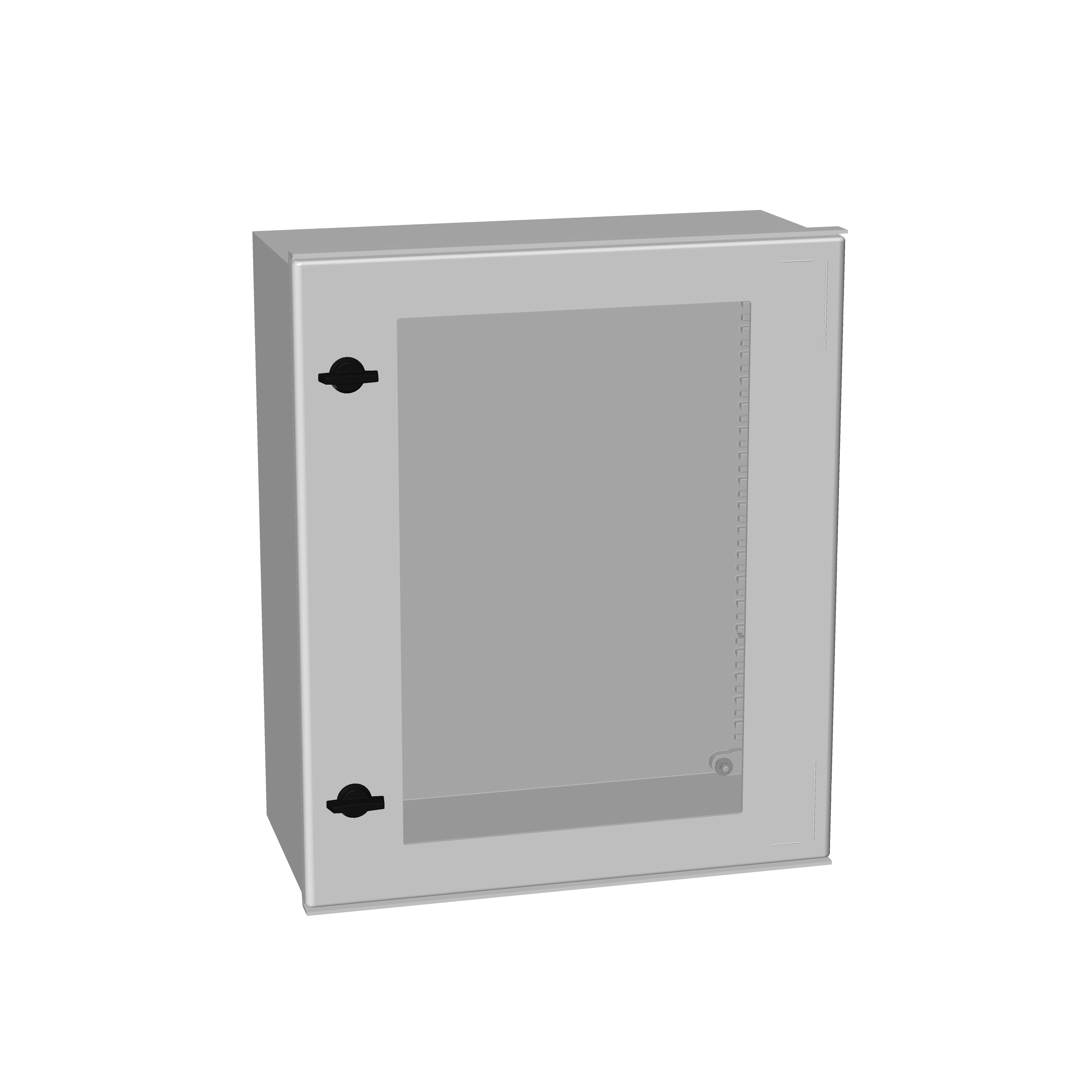 1 Stk Minipol-Wandschrank mit Sichtfenster 600x500x230mm IM008965--