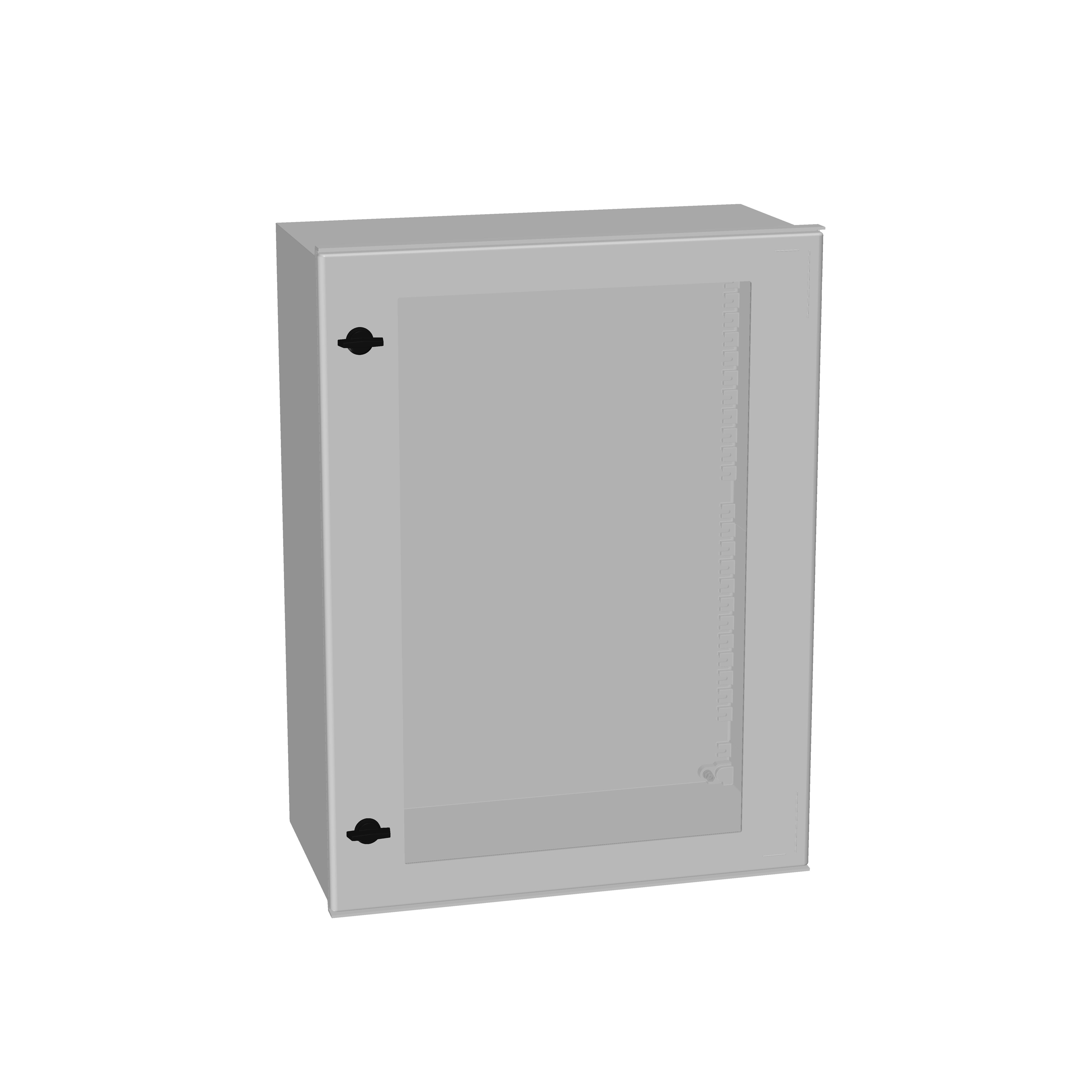 1 Stk Minipol-Wandschrank mit Sichtfenster 800x600x300mm IM008986--
