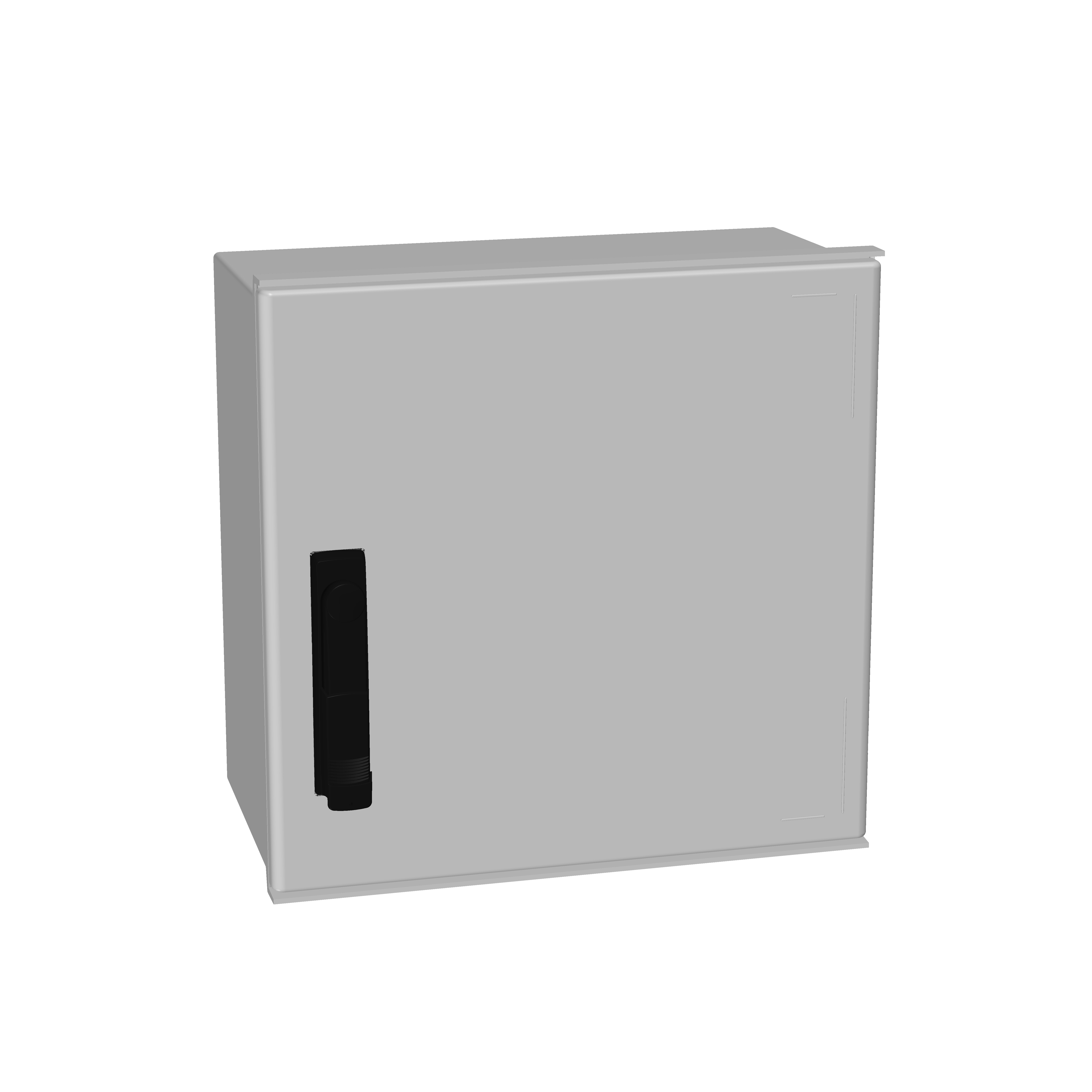 1 Stk Minipol-Wandschrank 3-Punkt Stangenverschl. 400x400x200mm IM088844--