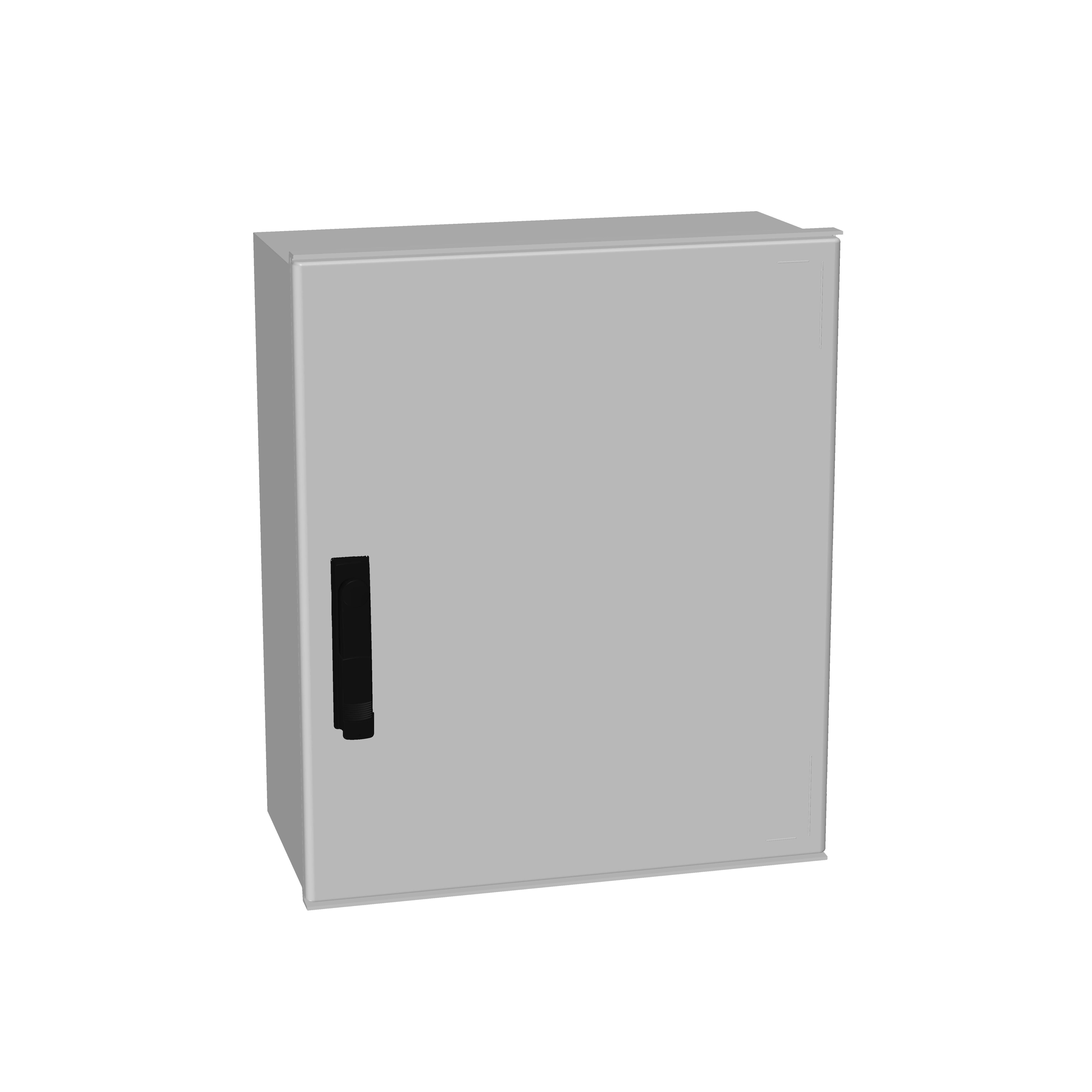 1 Stk Minipol-Wandschrank 3-Punkt Stangenverschl. 600x500x230mm IM088865--