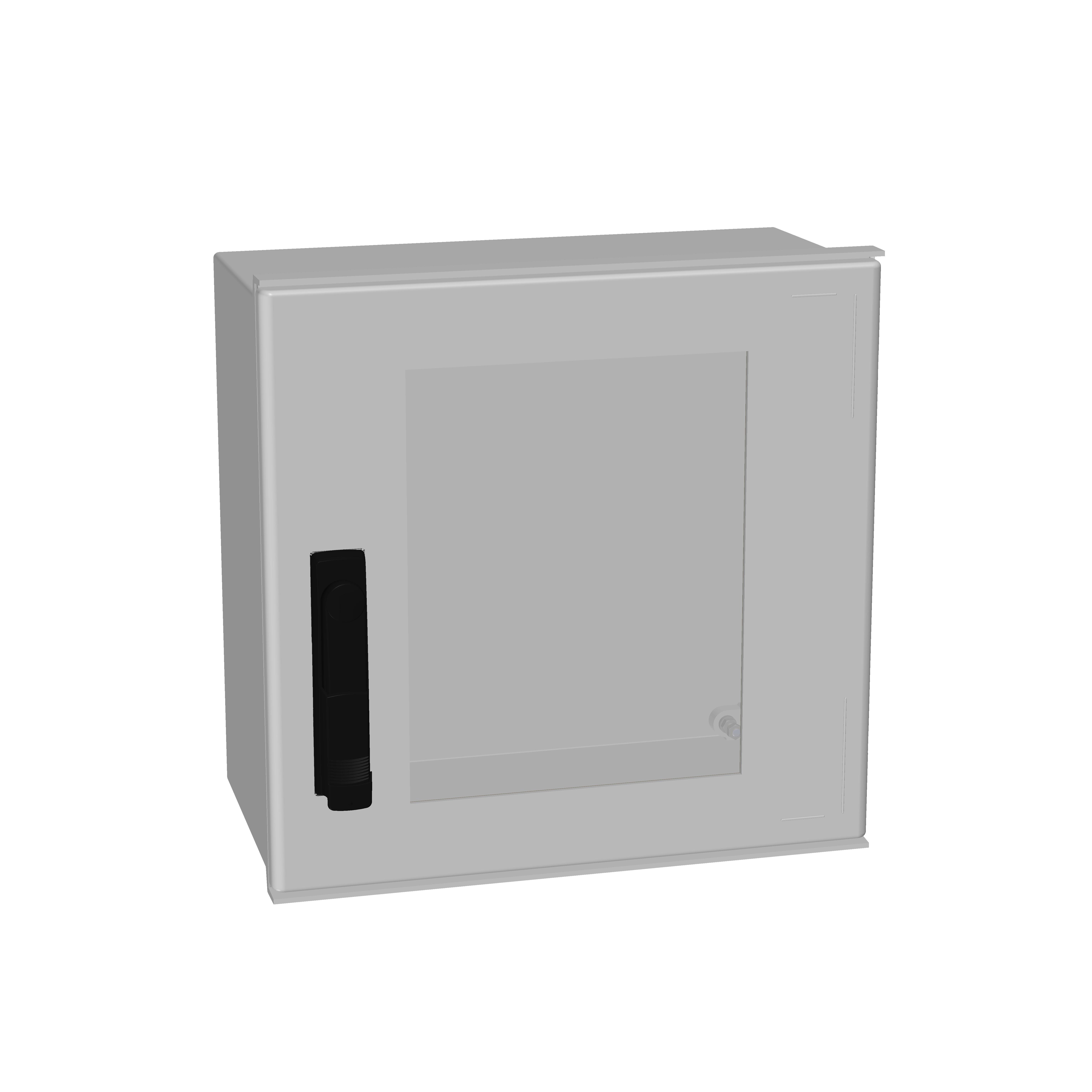1 Stk Minipol-Wandschrank 3-Punkt Stangenverschl.+SF 400x400x200mm IM088944--