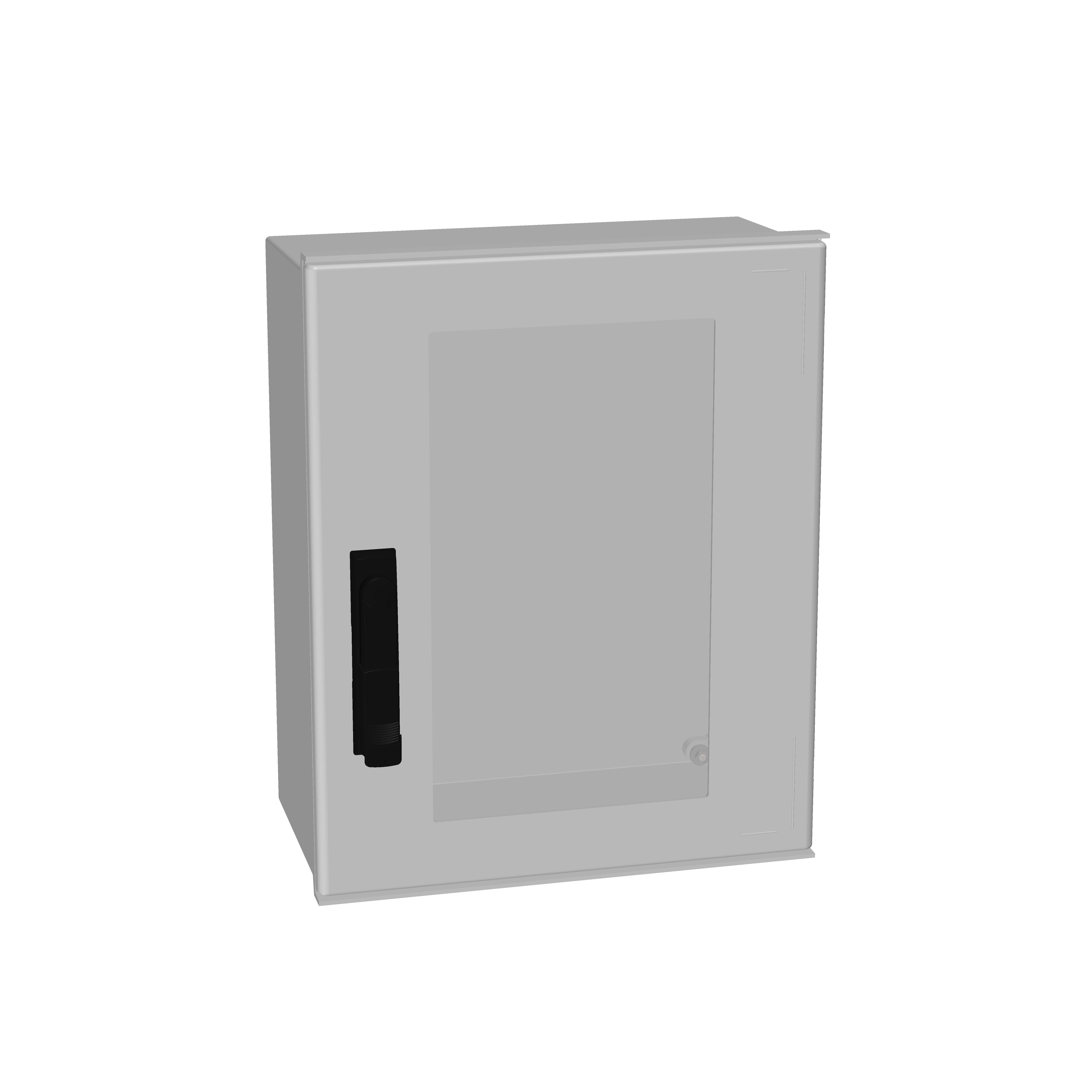 1 Stk Minipol-Wandschrank 3-Punkt Stangenverschl.+SF 500x400x200mm IM088954--