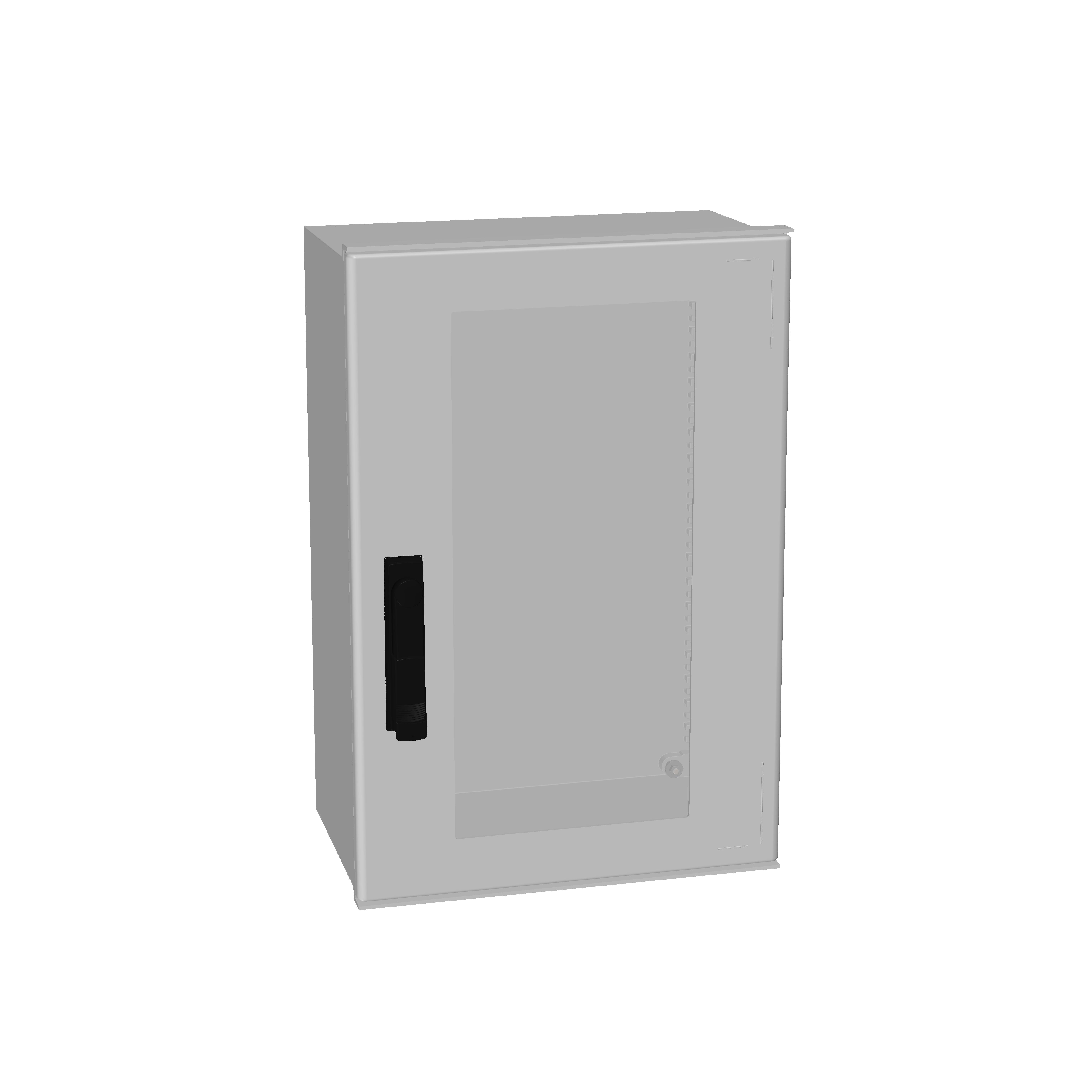 1 Stk Minipol-Wandschrank 3-Punkt Stangenverschl.+SF 600x400x230mm IM088964--