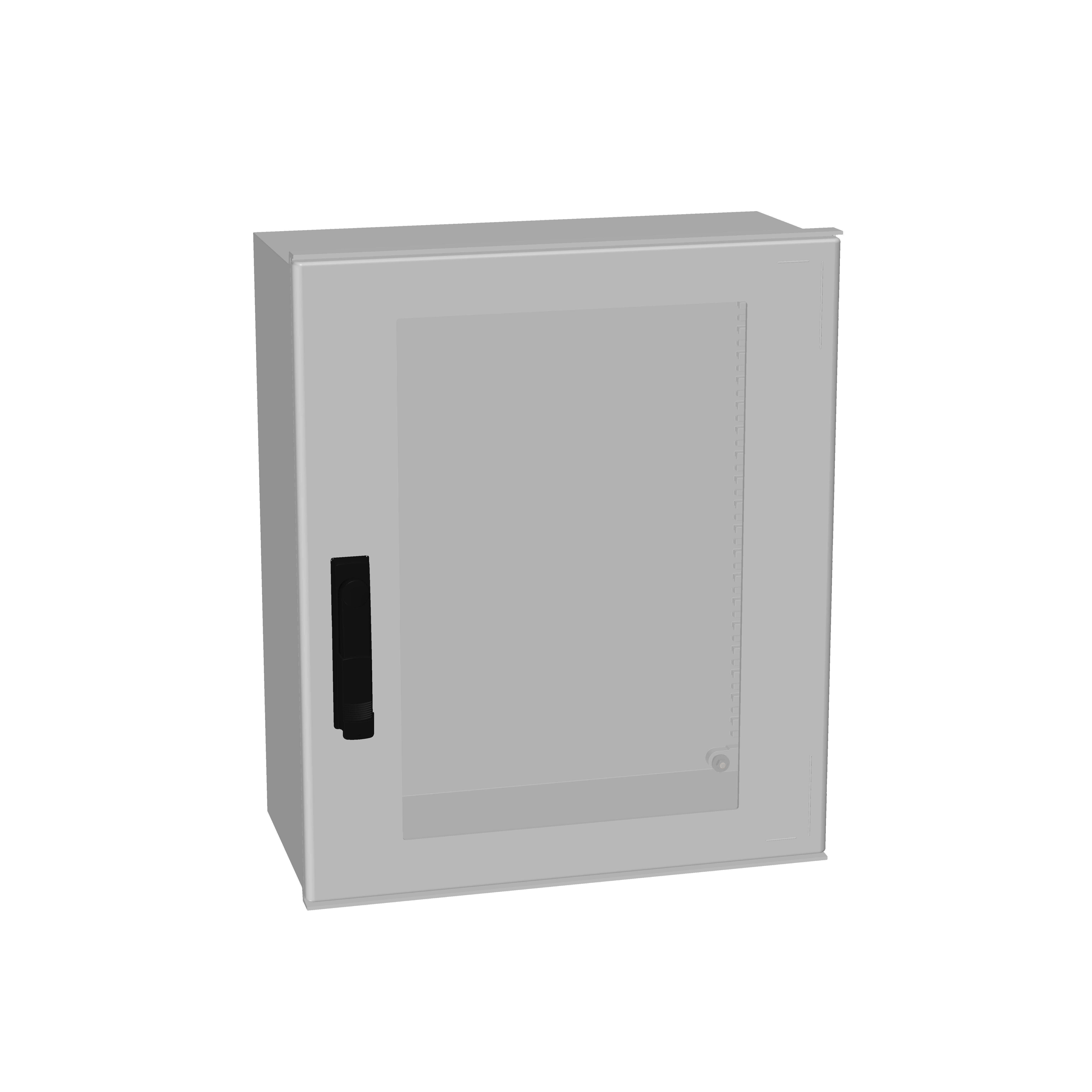 1 Stk Minipol-Wandschrank 3-Punkt Stangenverschl.+SF 600x500x230mm IM088965--
