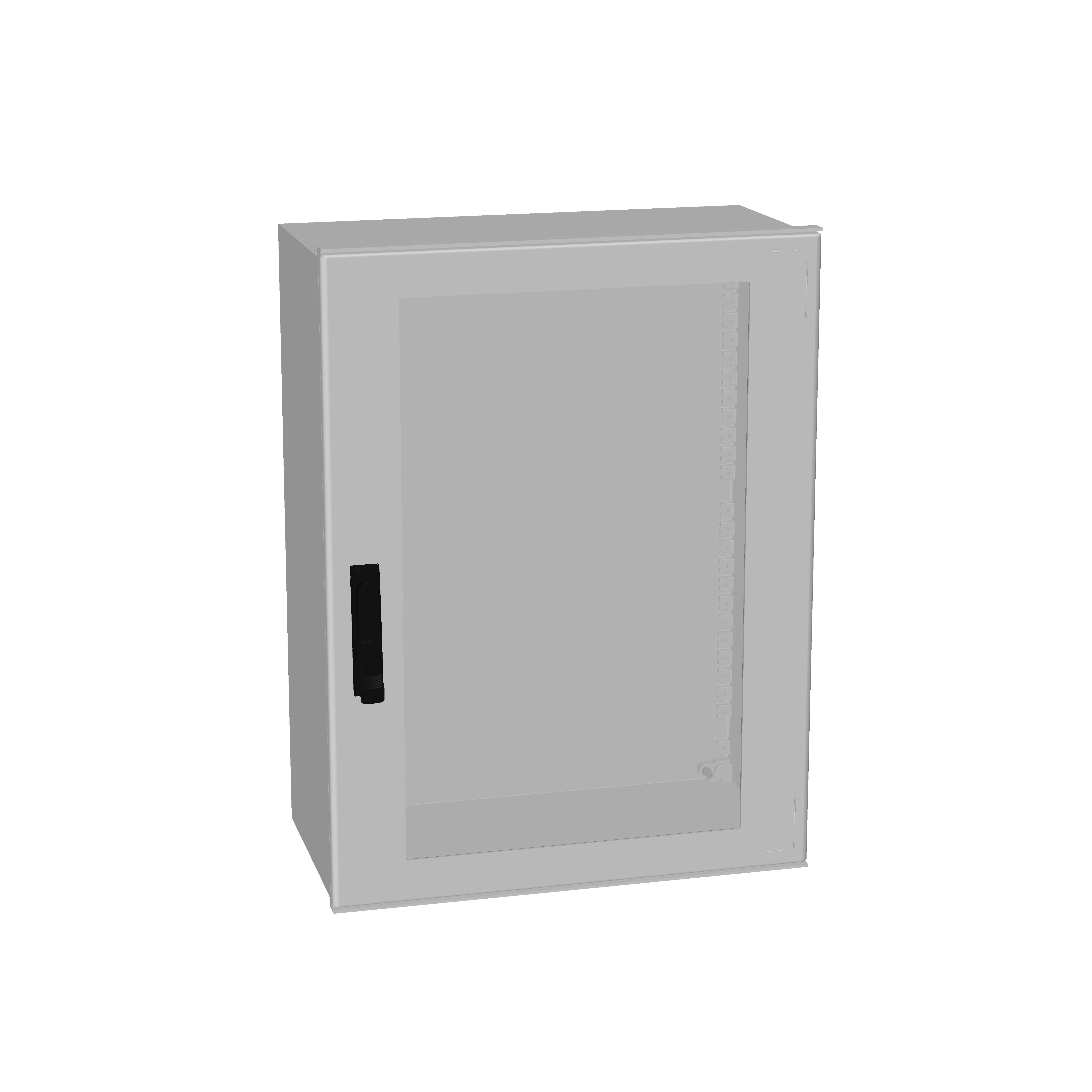 1 Stk Minipol-Wandschrank 3-Punkt Stangenverschl.+SF 800x600x300mm IM088986--