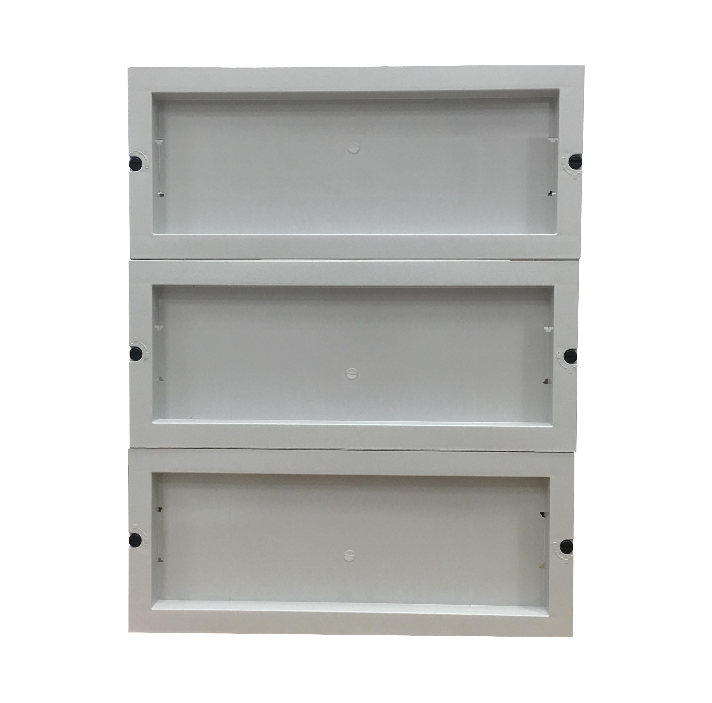 1 Stk Installationseinsatz für 400x400 2x18TE IMCH0044--